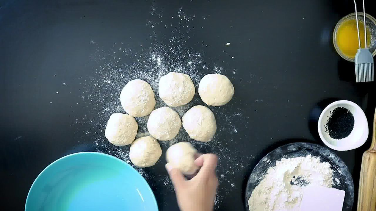 Image of the cooking step-1-6 for Instant Whole Wheat Naan - No Yeast