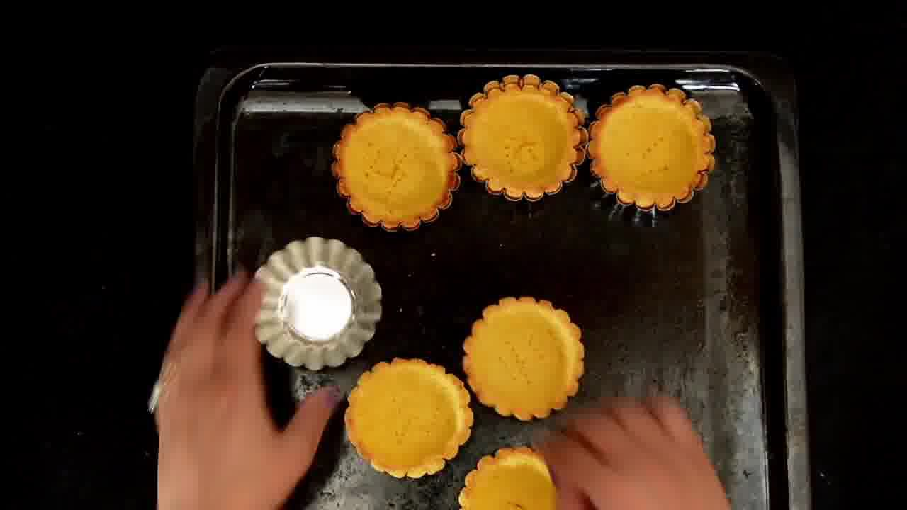 Image of the cooking step-3-6 for Mint Chickpea Cornmeal Tart - Pudina Chola (Zero Oil)