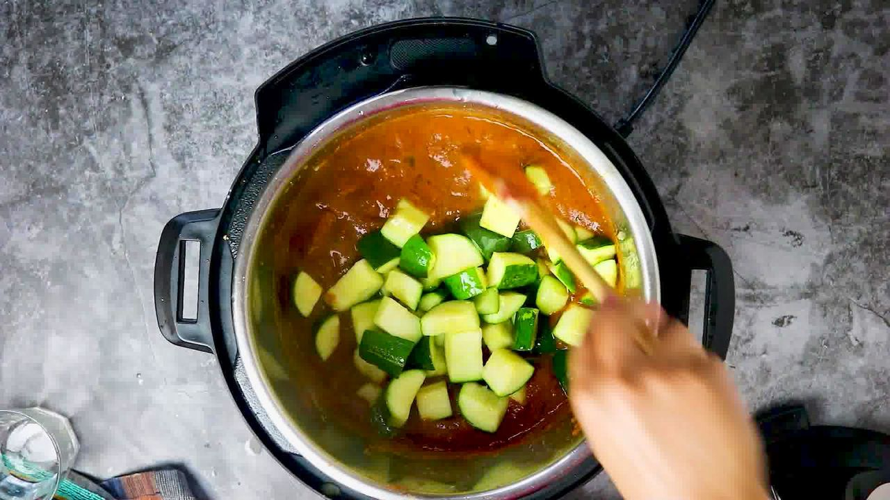 Image of the cooking step-1-16 for Zucchini Tofu Curry (Instant Pot + Stovetop)