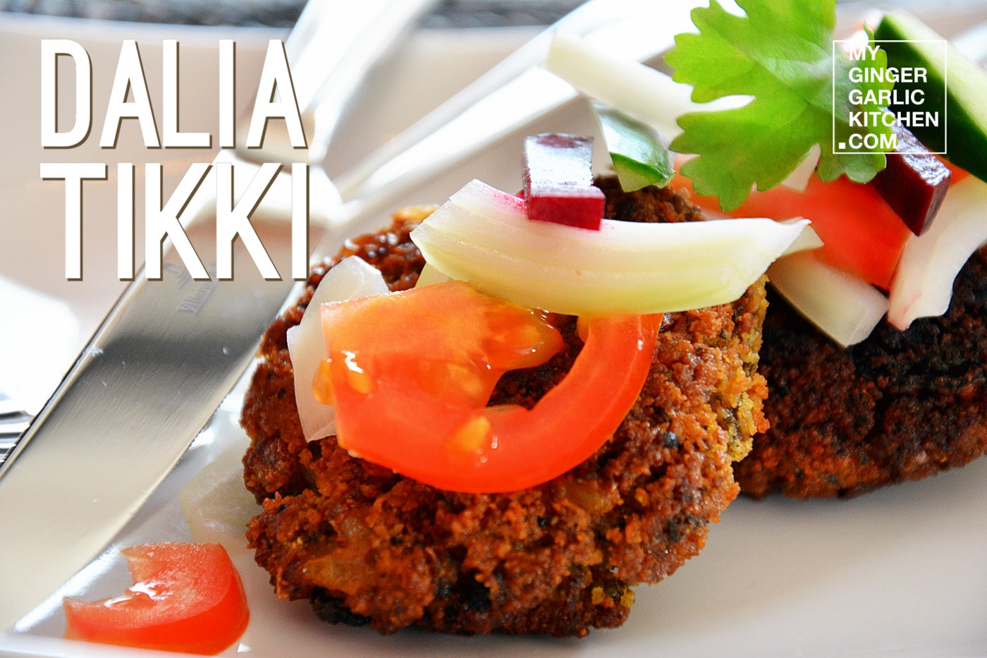 Image of Dalia Tikki - Broken Wheat Cutlet