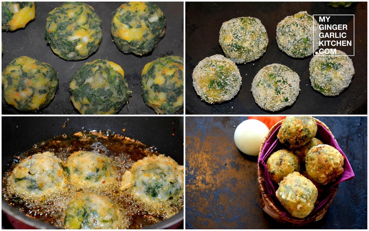 Image - recipe spinach kofta curry anupama paliwal my ginger garlic kitchen 5