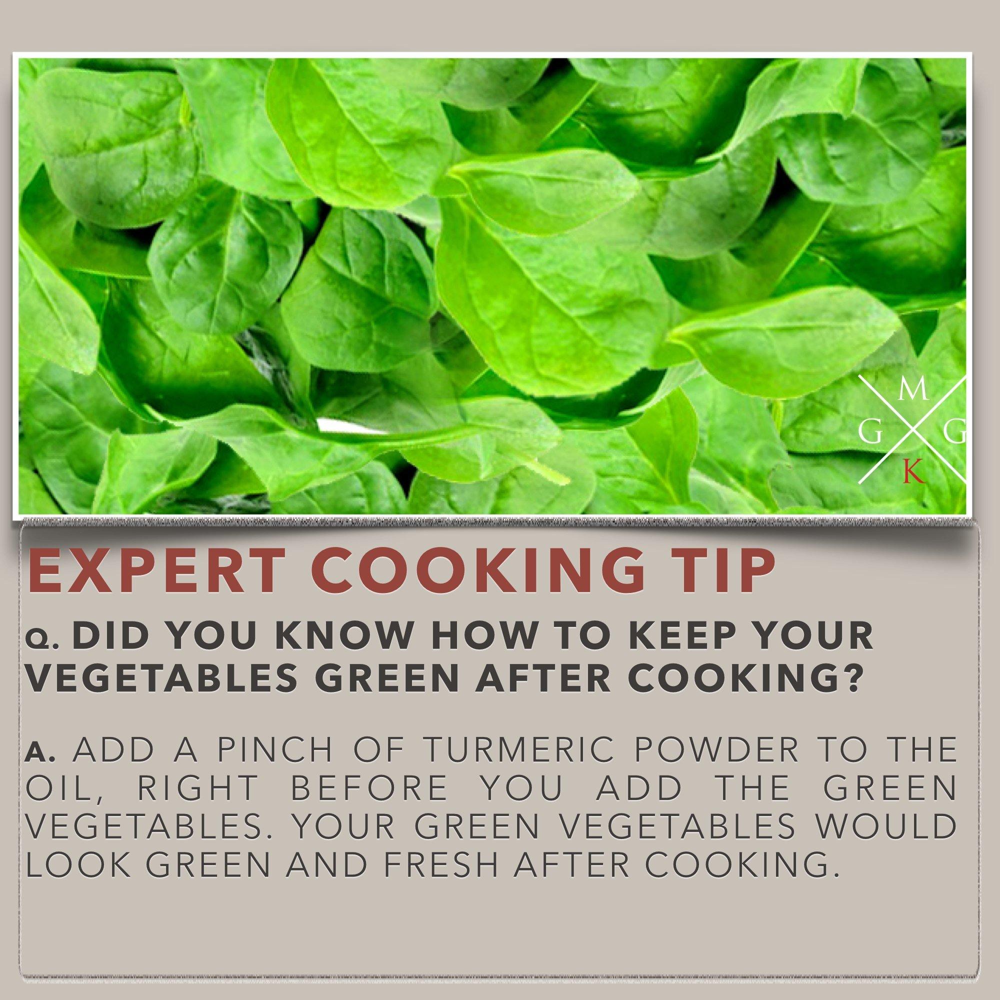 Cooking Tips - Cooking Tips – How To Keep Vegetables Green After Cooking