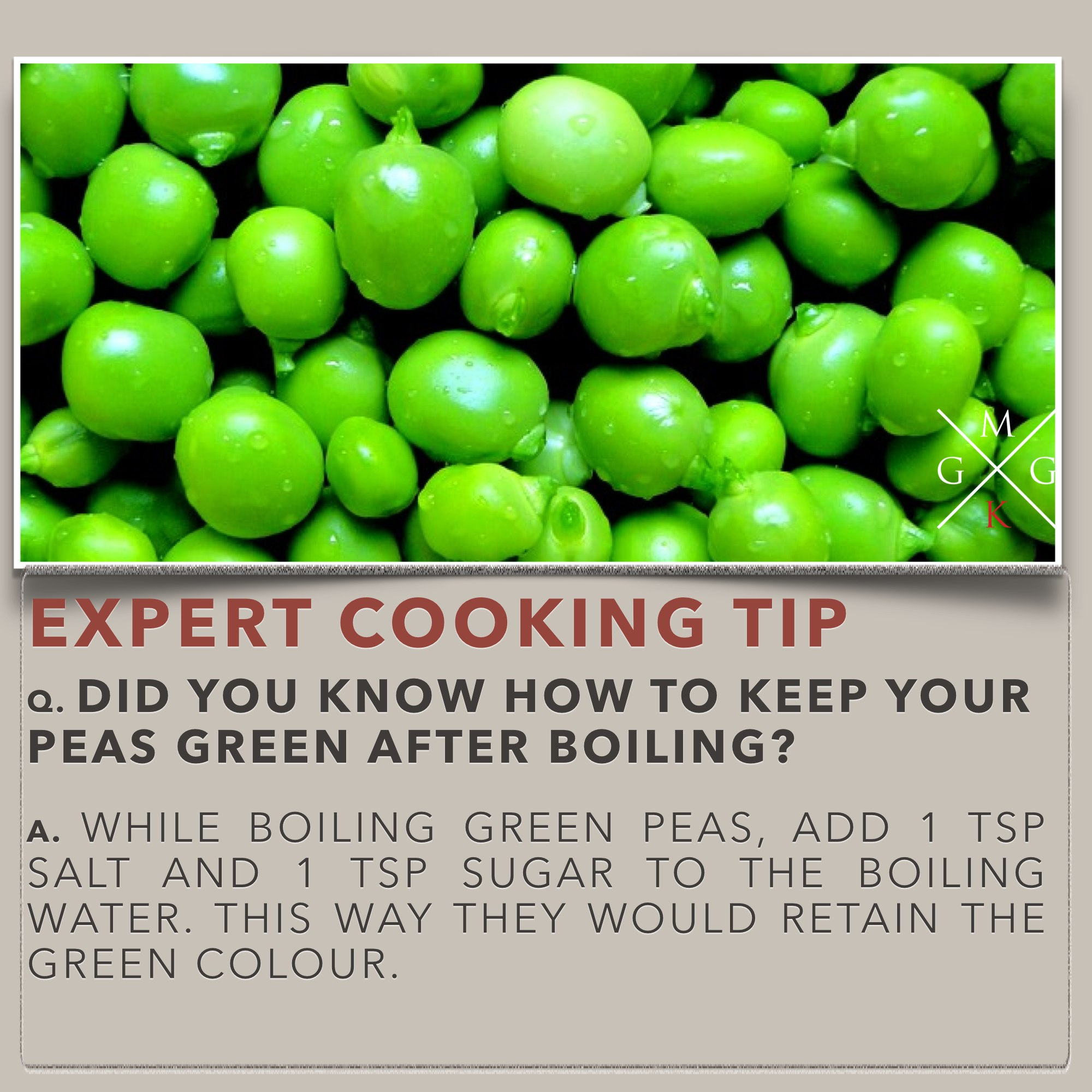 Cooking Tips How To Keep Peas Green After Boiling
