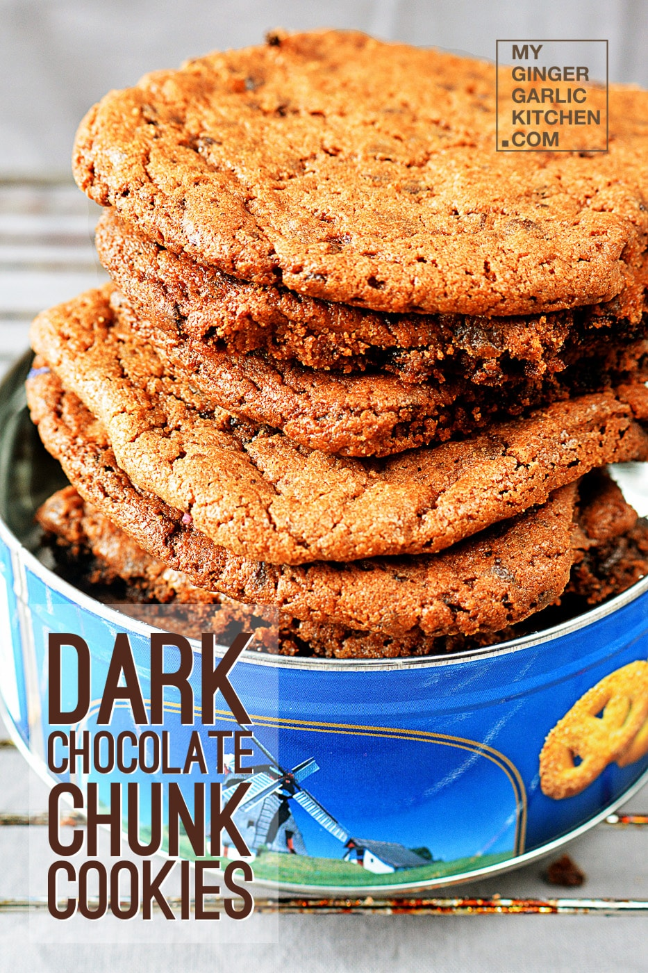 Image - recipe dark chocolate chunk cookies anupama paliwal my ginger garlic kitchen 41