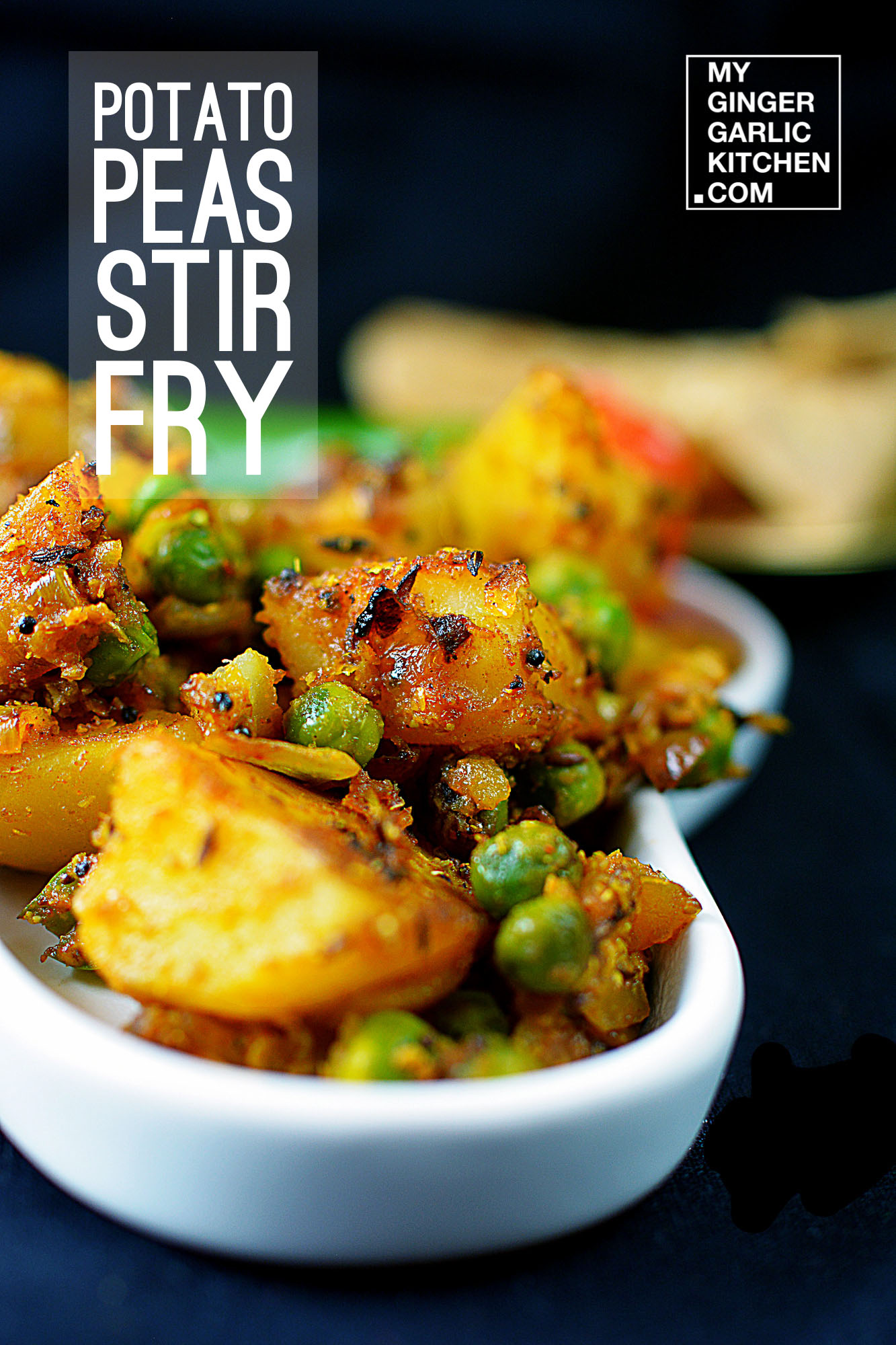 Image - recipe dark potoato peas stir fry anupama paliwal my ginger garlic kitchen 3
