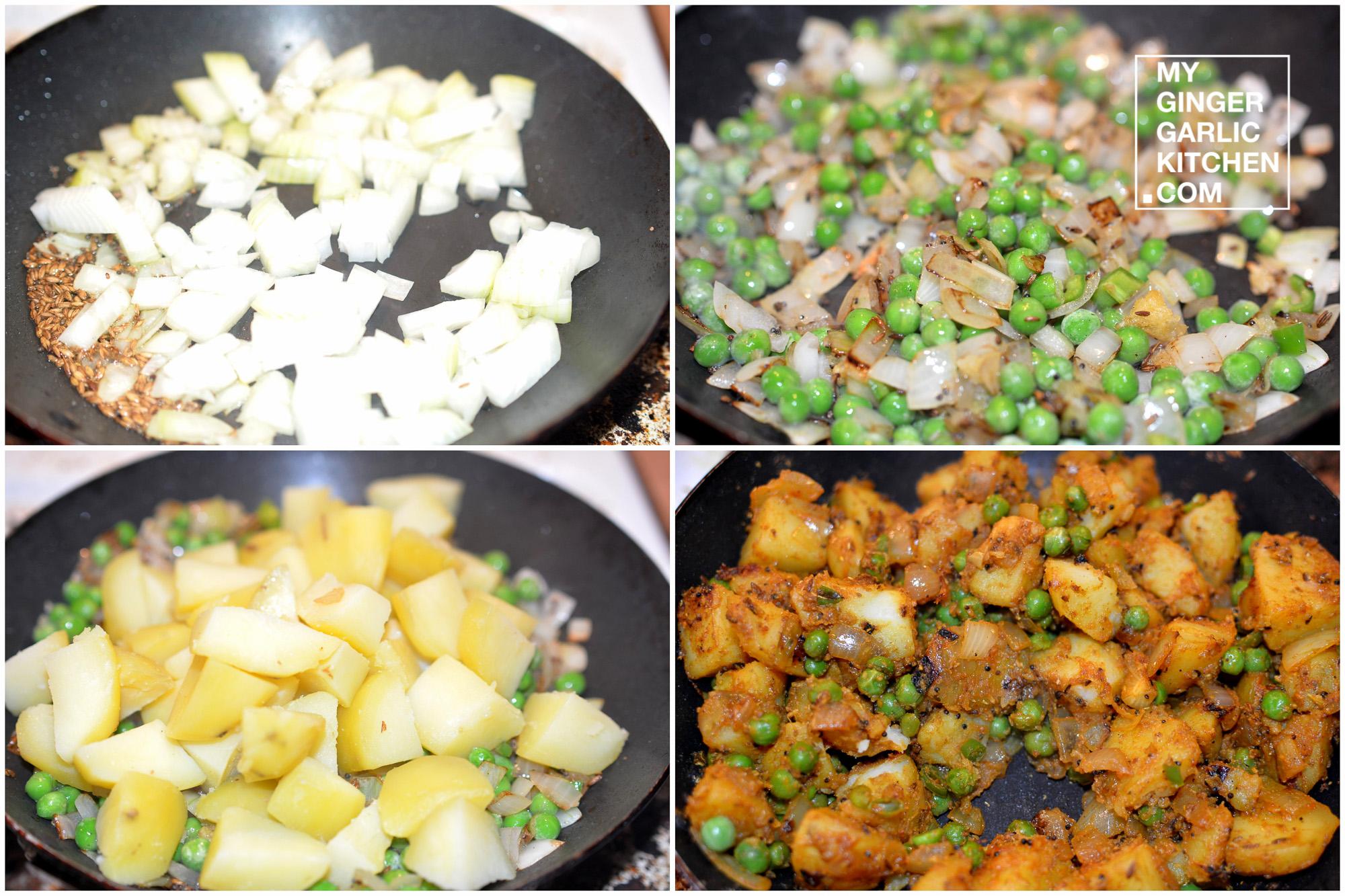 Image - recipe dark potoato peas stir fry anupama paliwal my ginger garlic kitchen 5