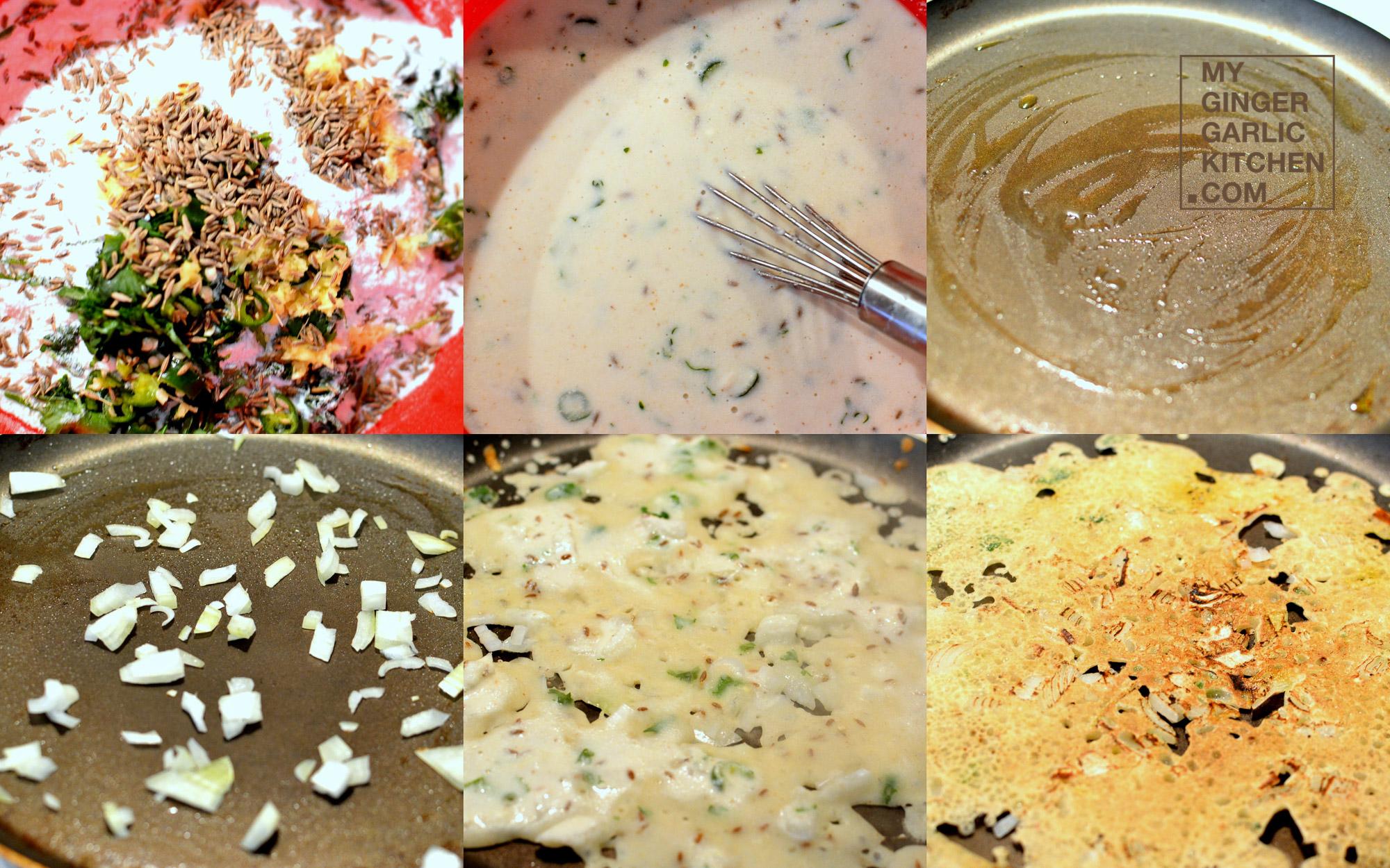 how to prepare rava dosa in youtube