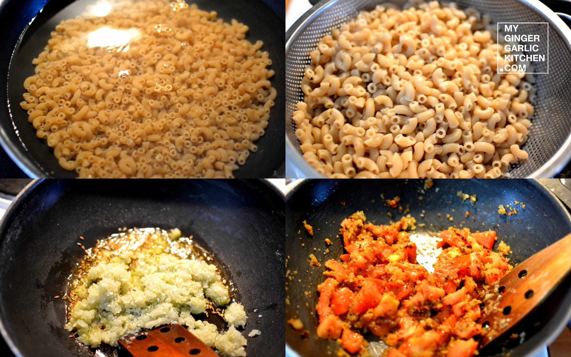 Image - recipe macaroni in buttery coconut vegetable curry anupama paliwal my ginger garlic kitchen 7
