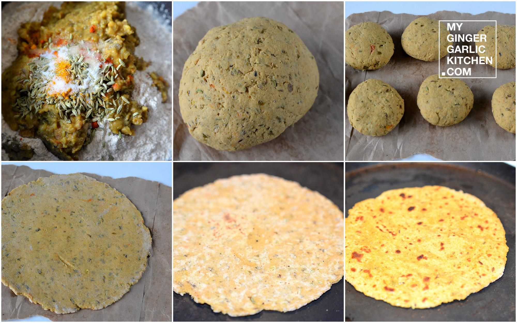 Image - recipe moon dal paratha anupama paliwal my ginger garlic kitchen 5