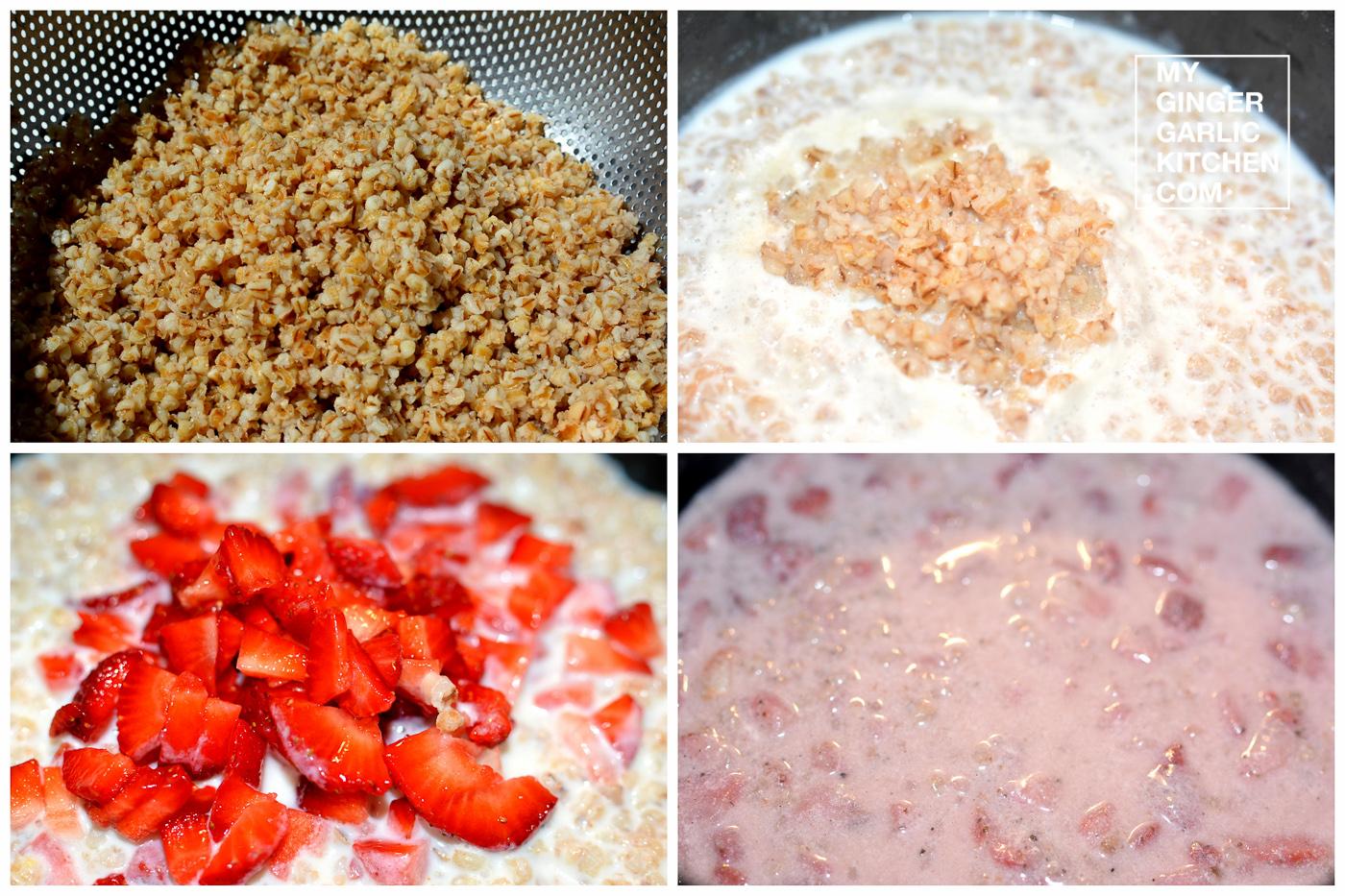 Image - recipe oat strawberry kheer anupama paliwal my ginger garlic kitchen 4