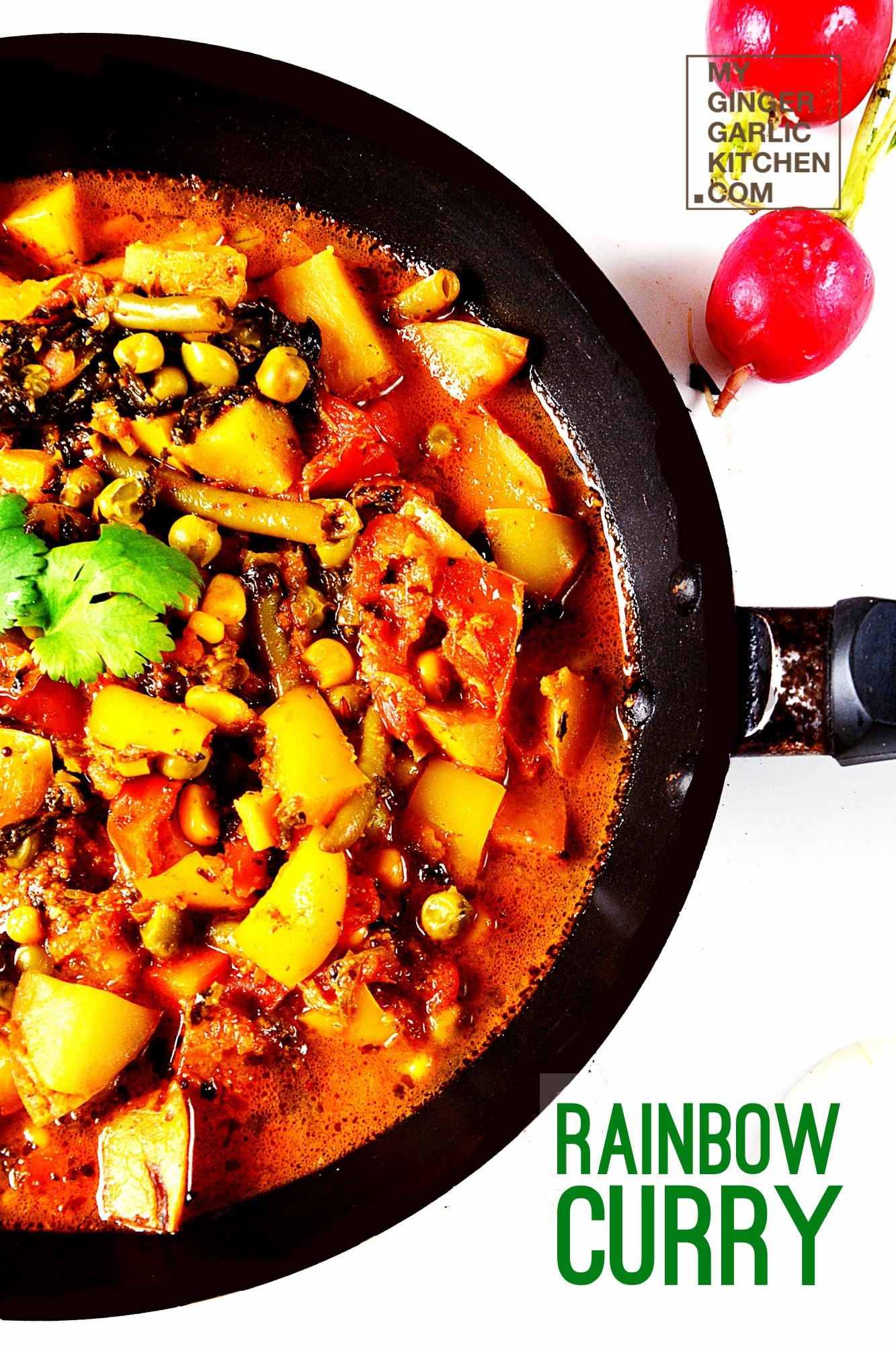 Image - recipe pressure cooker rainbow curry anupama paliwal my ginger garlic kitchen 2