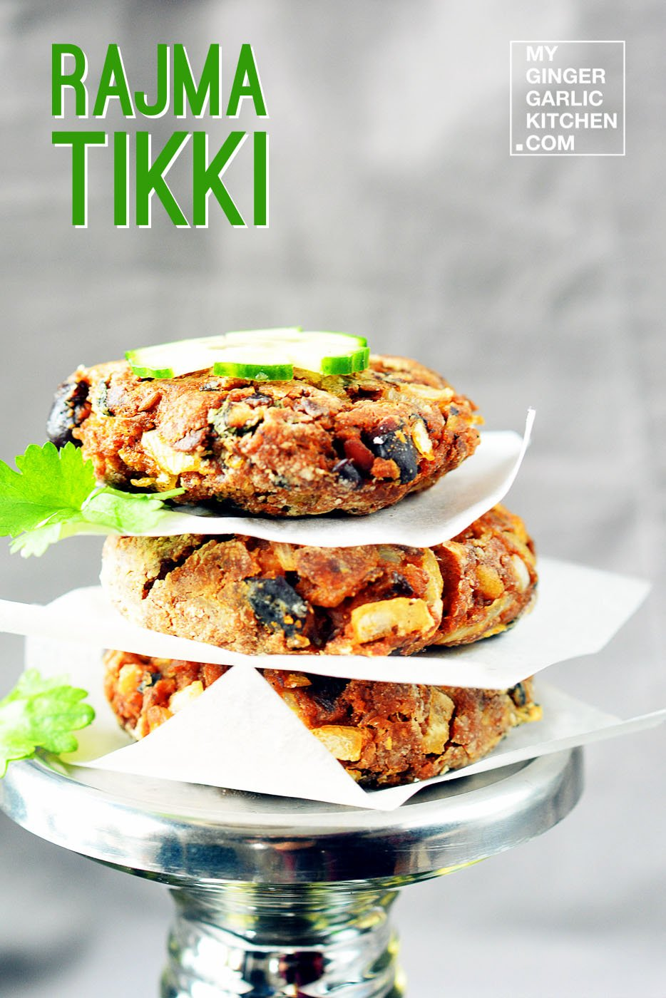 Image - recipe rajma tikki anupama paliwal my ginger garlic kitchen 1