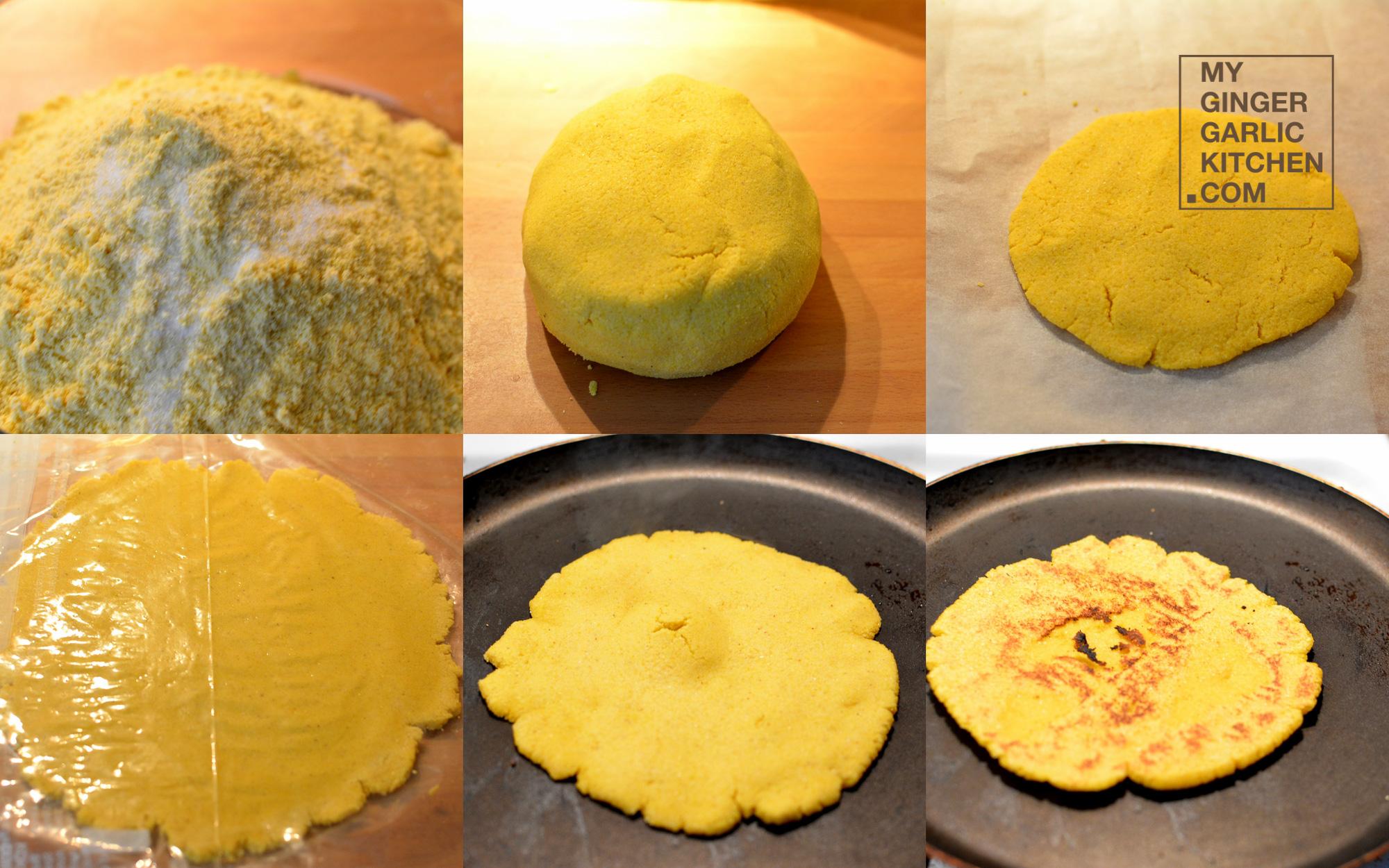 ... Roti – Golden Cornmeal Flatbread [Recipe] - My Ginger Garlic Kitchen