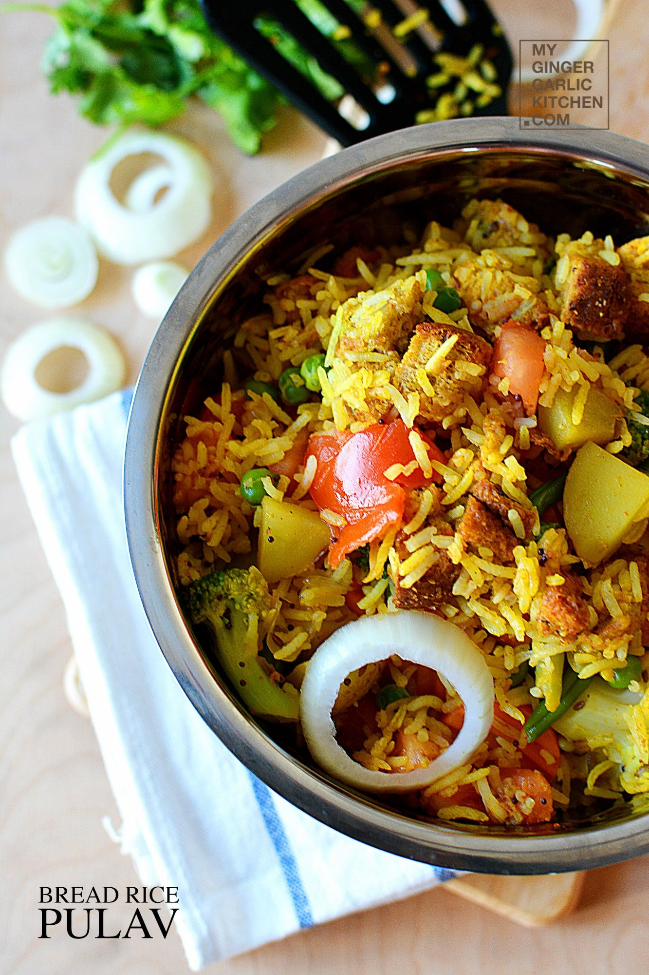 Image of Express Bread Rice Pulav