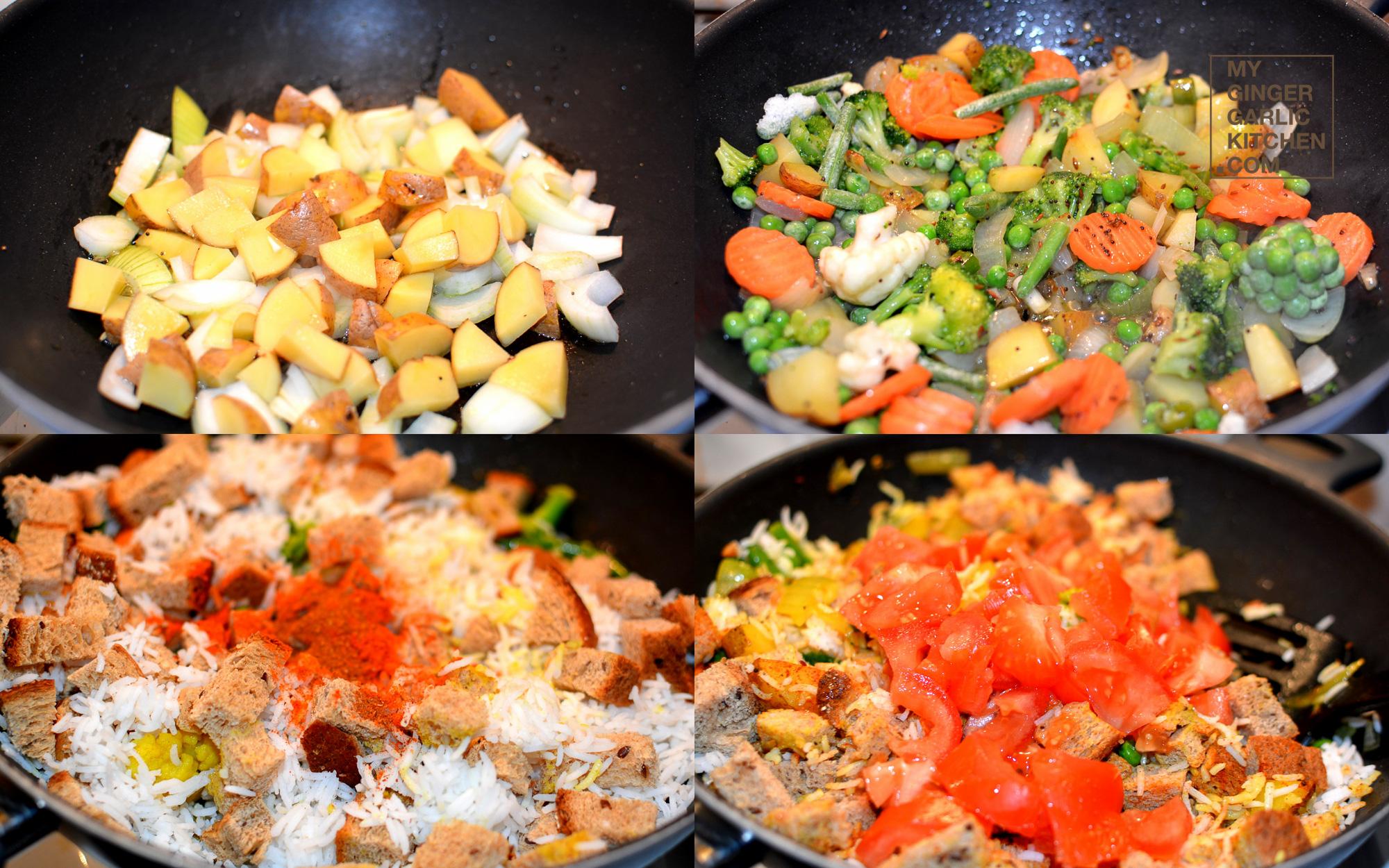 Image - recipe bread rice pulav anupama paliwal my ginger garlic kitchen 7