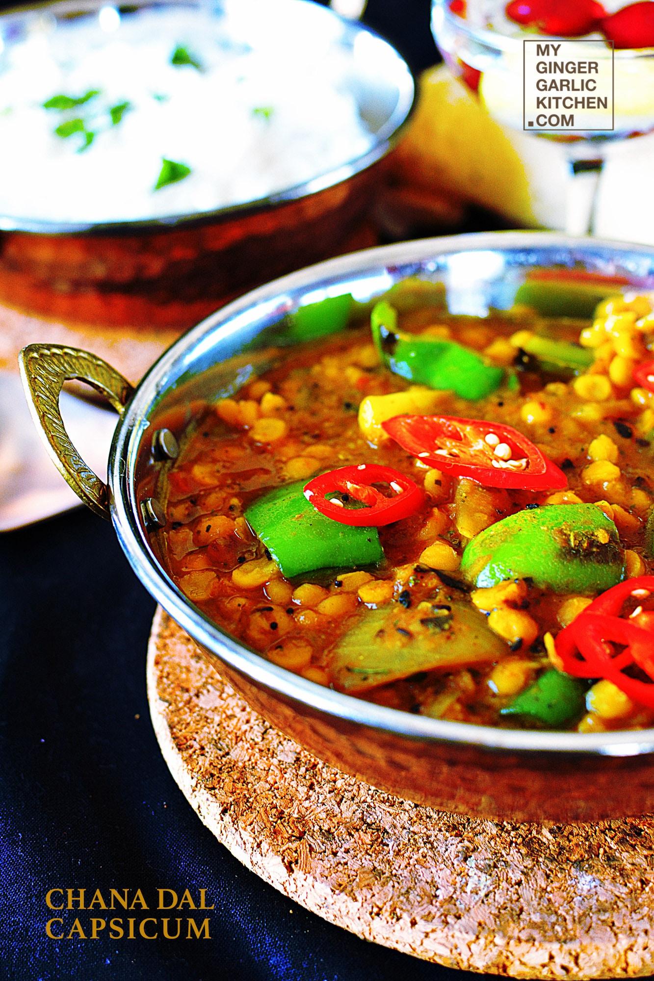 Image - recipe chana dal capsicum curry anupama paliwal my ginger garlic kitchen 10 682x1024