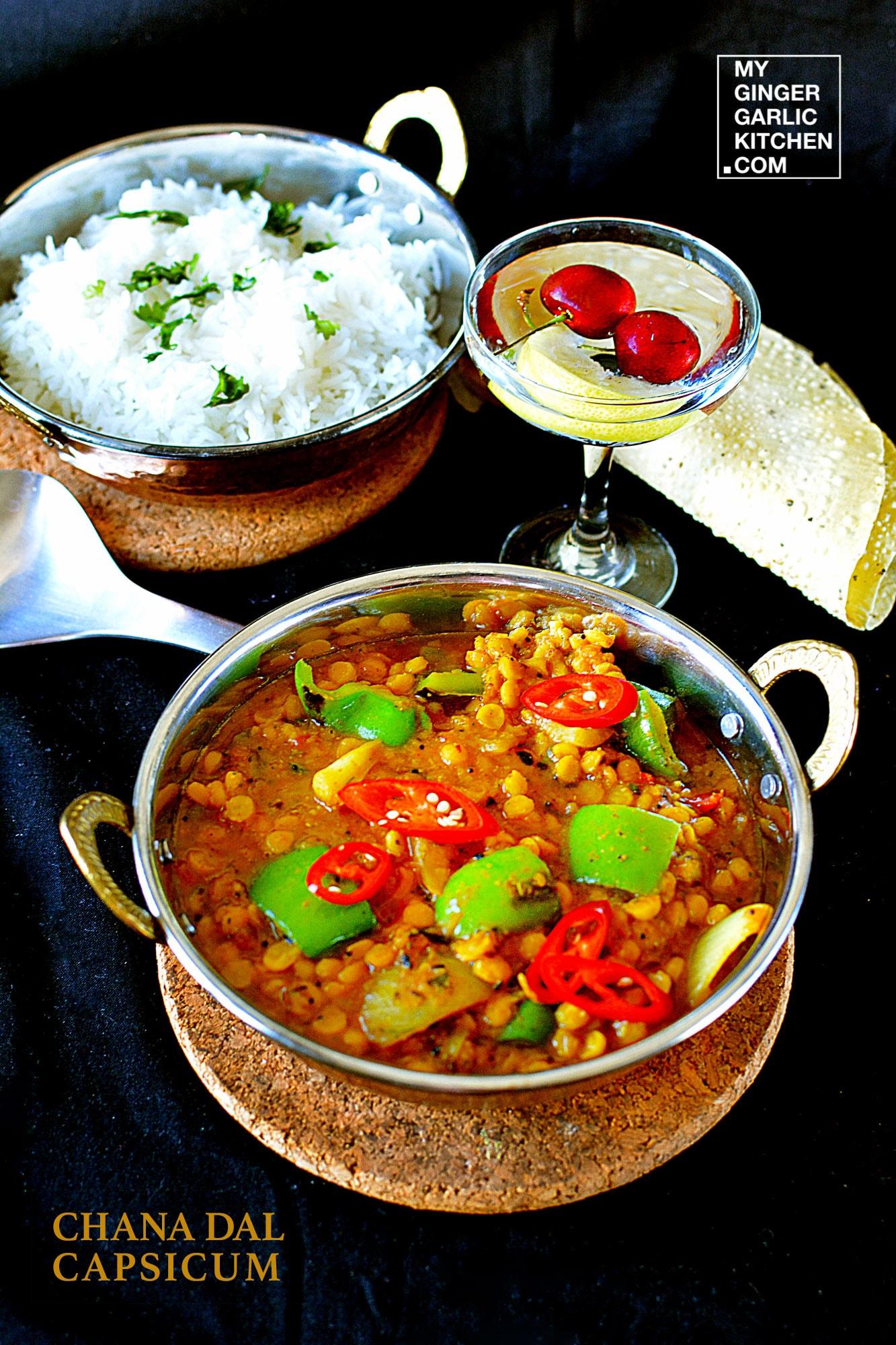Image - recipe chana dal capsicum curry anupama paliwal my ginger garlic kitchen 5 682x1024