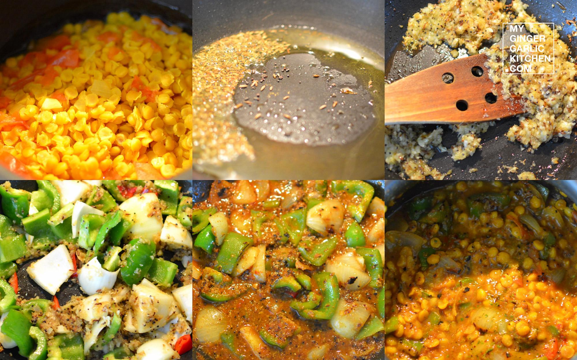 Image - recipe chana dal capsicum curry anupama paliwal my ginger garlic kitchen 7 1024x640