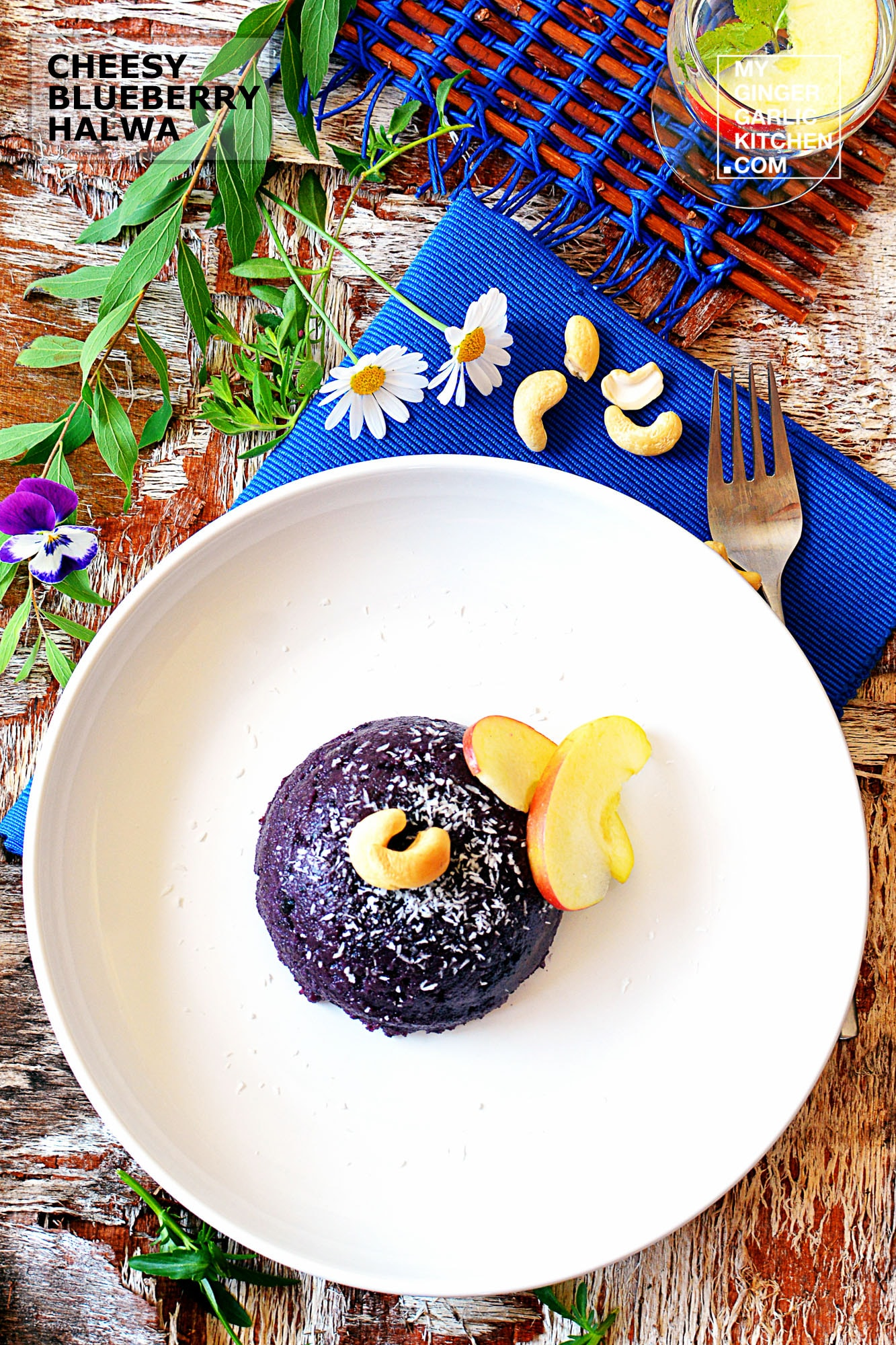 Image of Cheesy Blueberry Halwa [Signature Recipe]