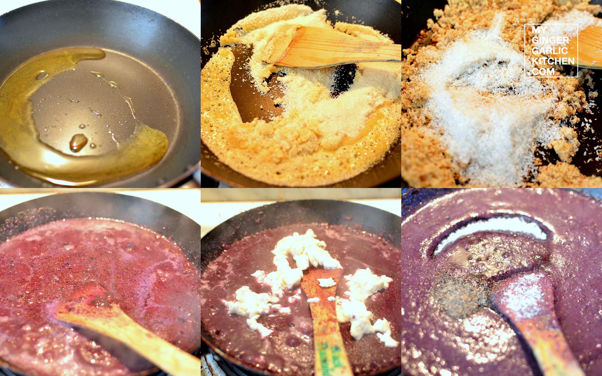 Image - recipe cheesy blueberry halwa anupama paliwal my ginger garlic kitchen 6
