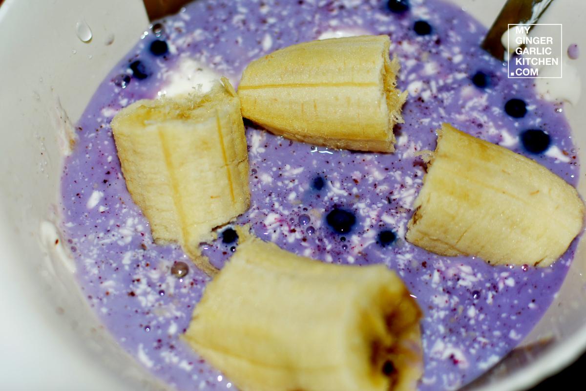 Image - recipe enchanting banana blueberry lassi anupama paliwal my ginger garlic kitchen 1