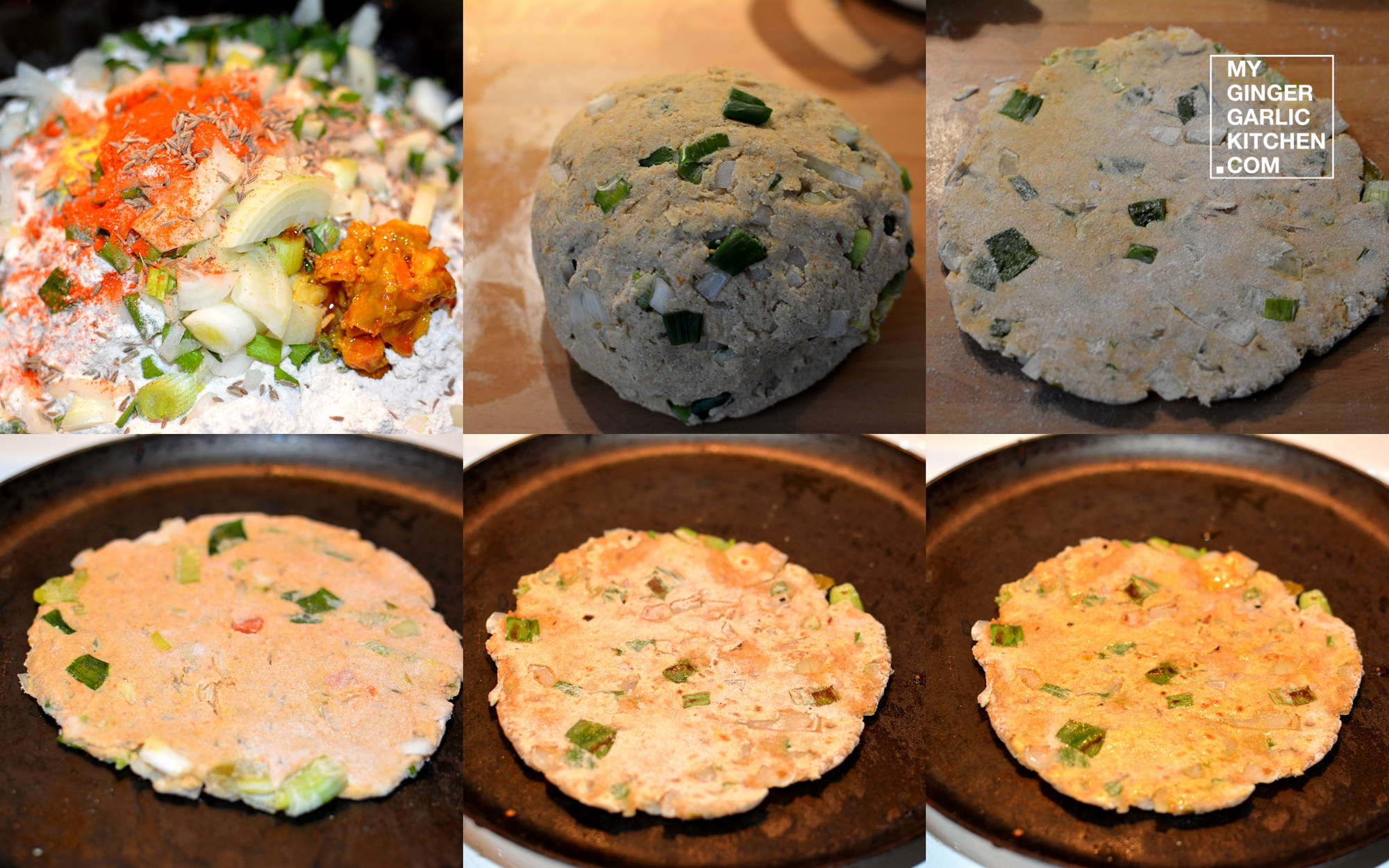 Image result for जौ की रोटी