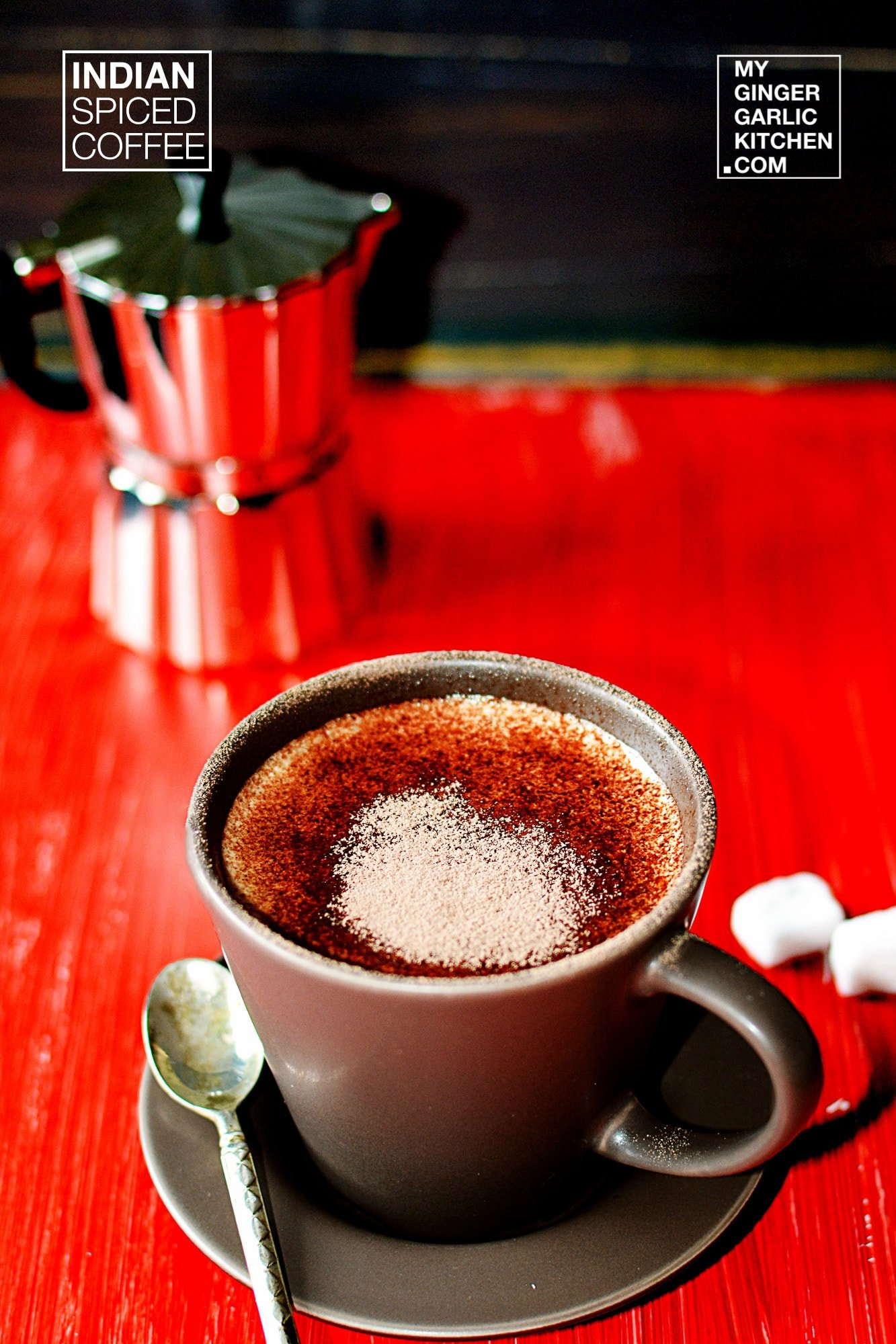 Image of Indian Spiced Coffee - Indian Masala Coffee