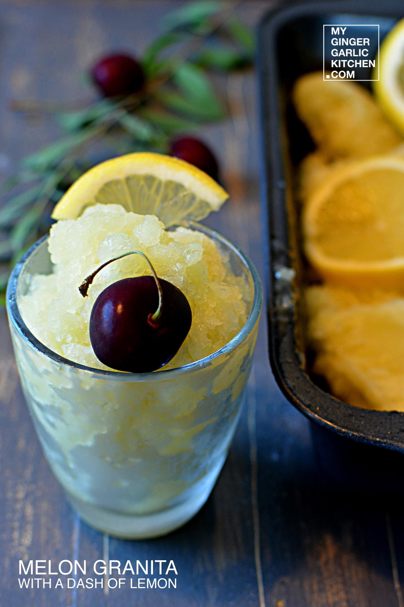 recipe-melon-granita-with-a dash-of-lemon-milk -anupama-paliwal-my-ginger-garlic-kitchen-1