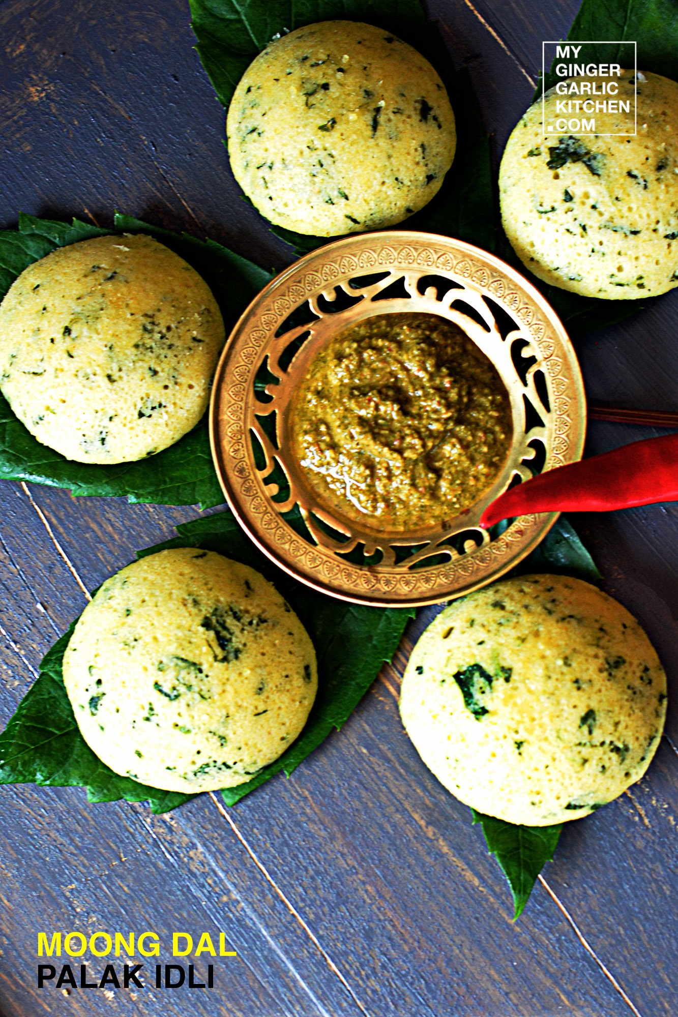 Image - recipe moong dal palak idli anupama paliwal my ginger garlic kitchen 4