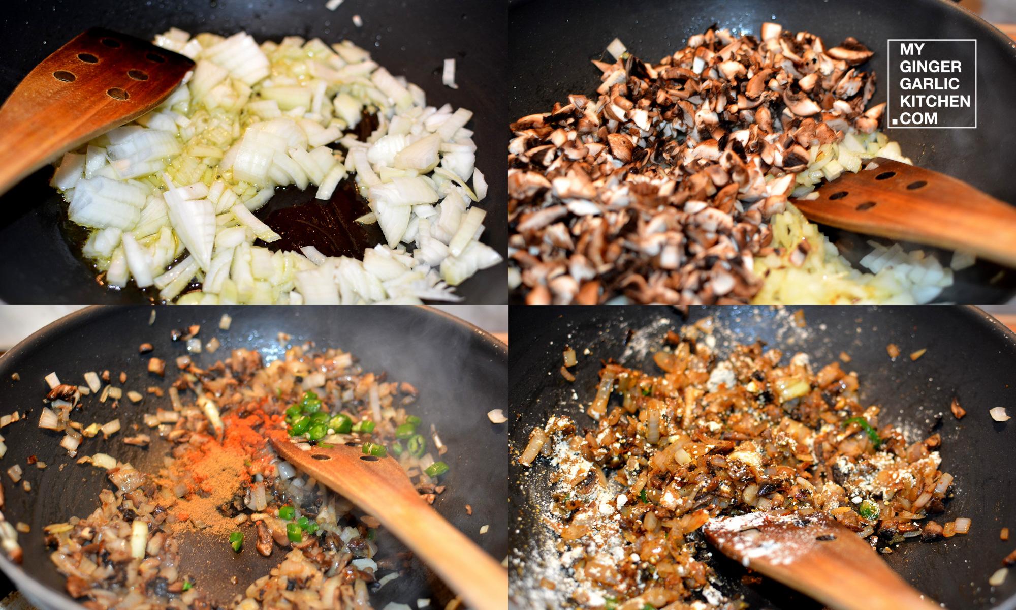 Image - recipe sizzling mushroom tikki anupama paliwal my ginger garlic kitchen 5