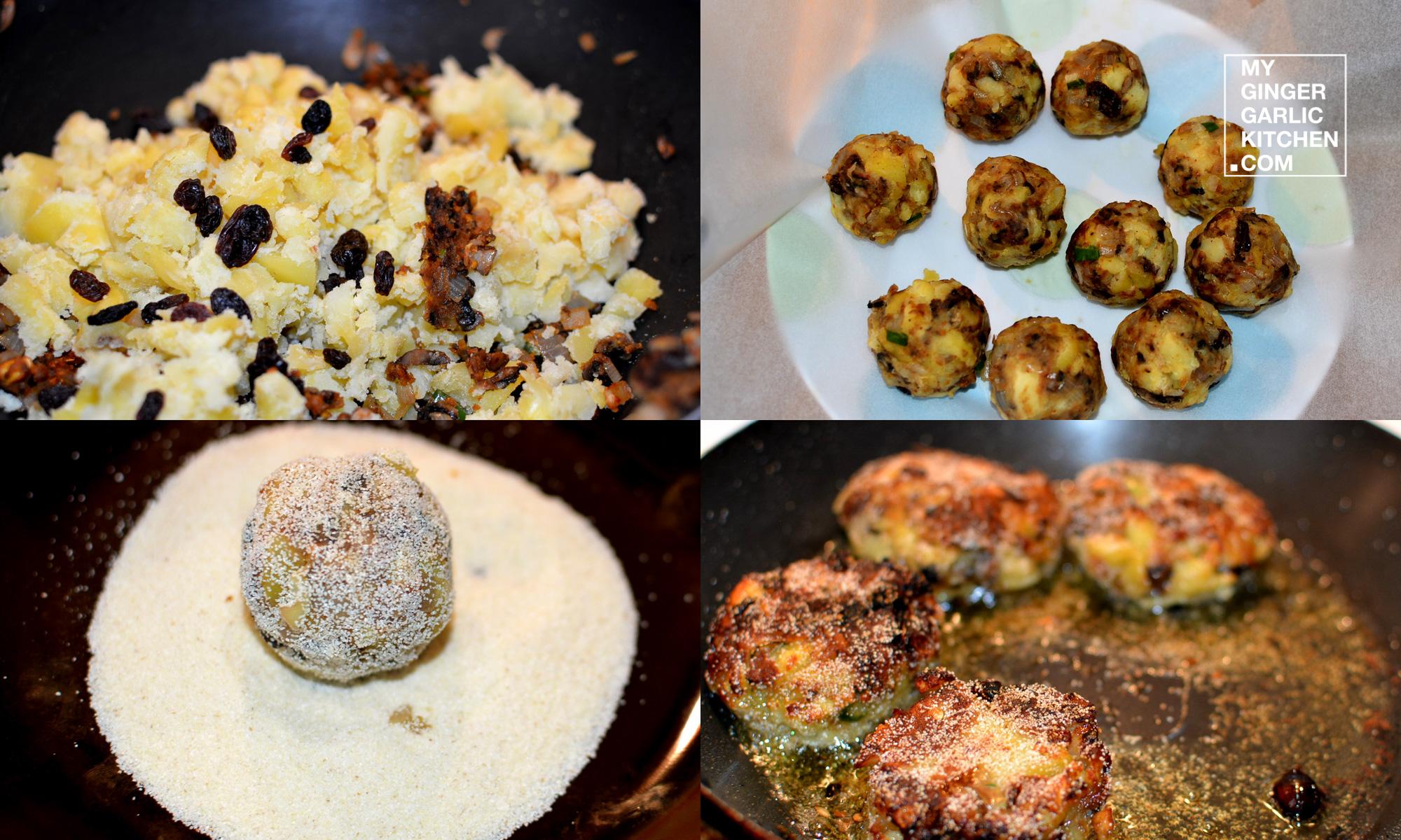 Image - recipe sizzling mushroom tikki anupama paliwal my ginger garlic kitchen 6