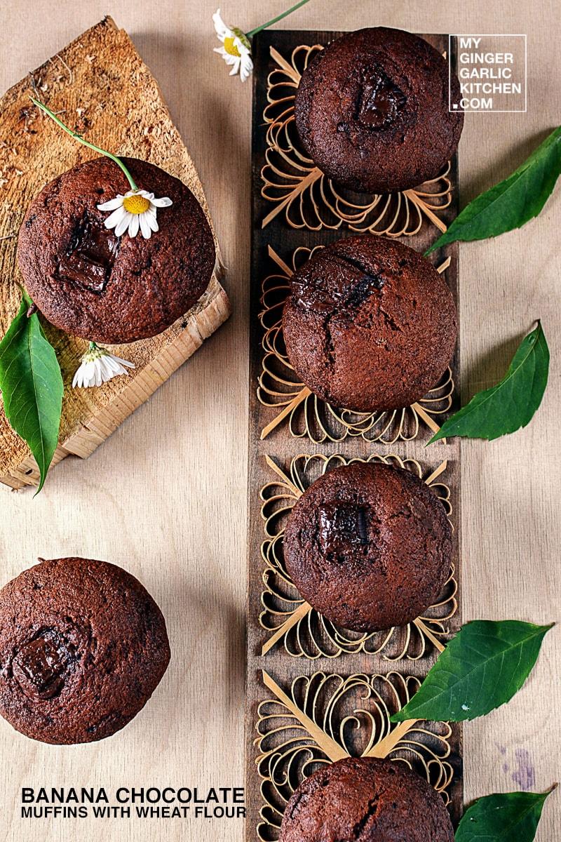 recipe-banana-chocolate-muffins-with-wheat-flour-anupama-paliwal-my-ginger-garlic-kitchen-5