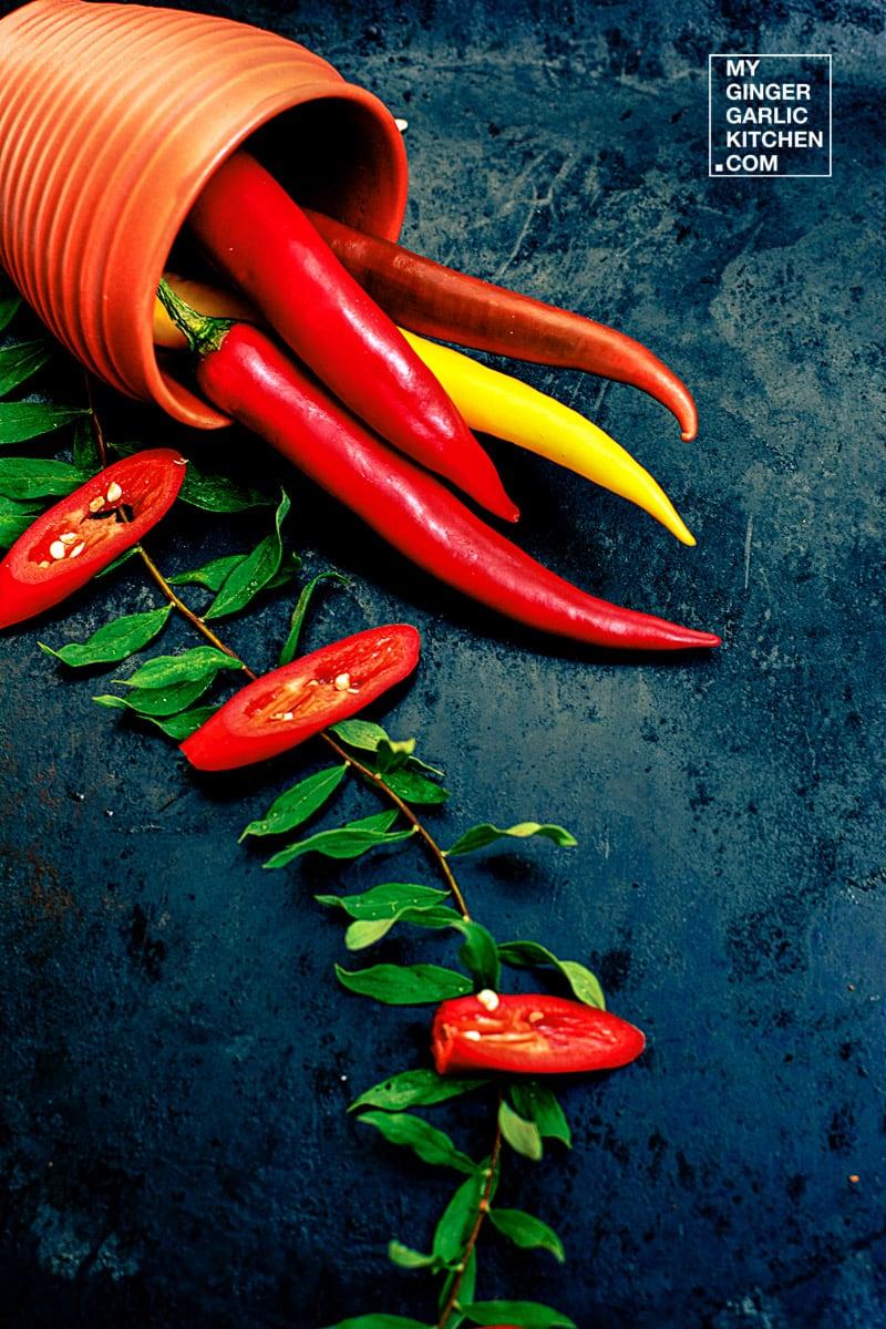 Image - recipe fresh chili anupama paliwal my ginger garlic kitchen 1