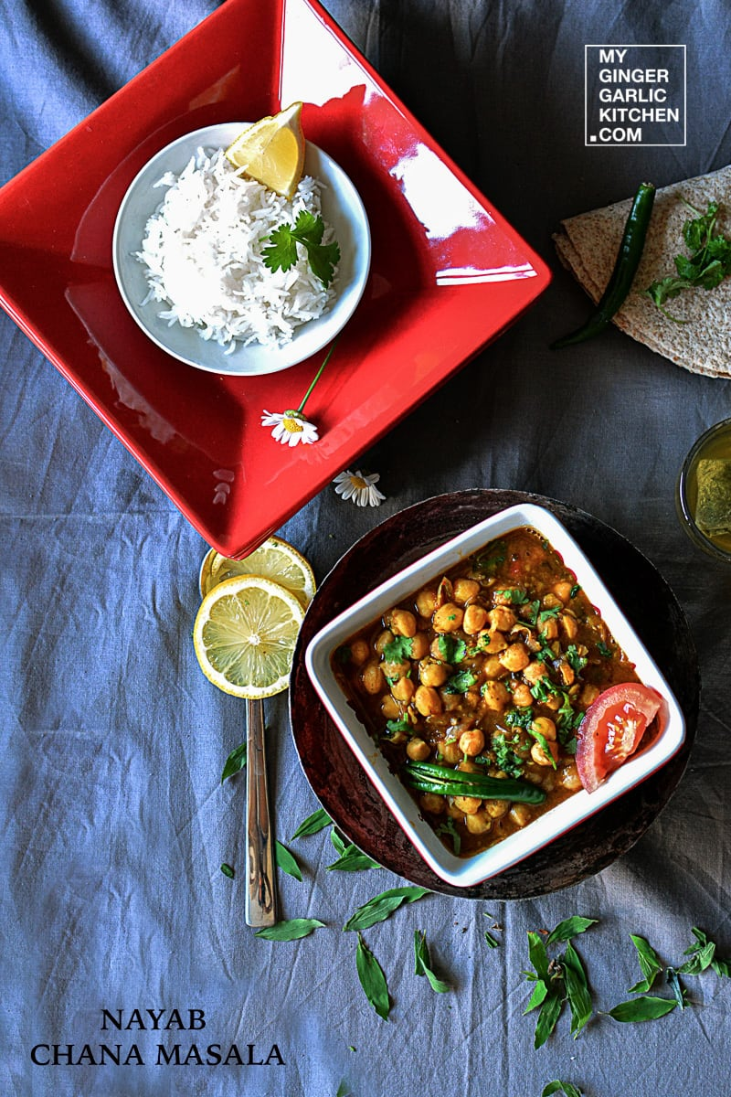 Image of Chana Masala Recipe – Spicy Chickpeas Curry