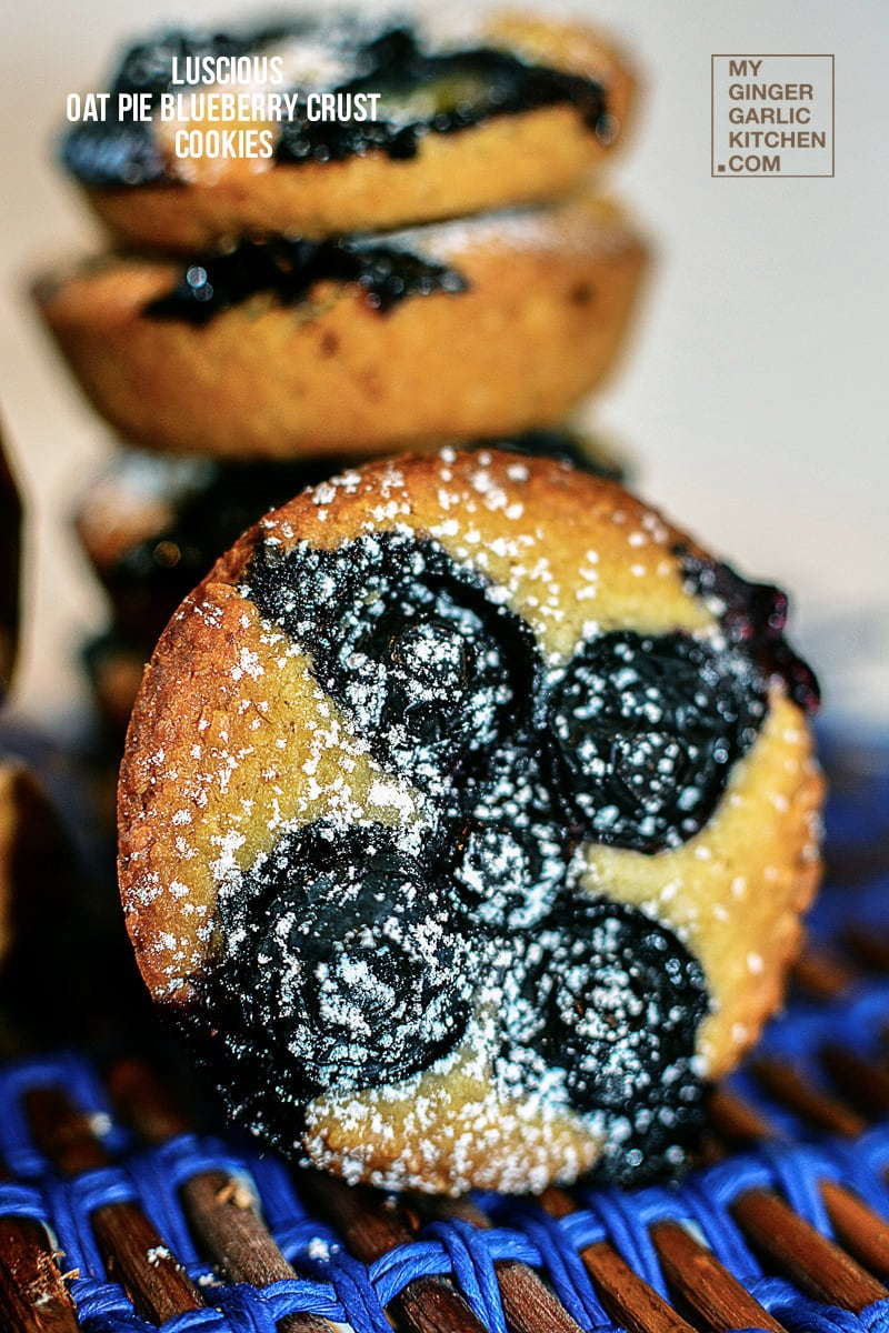 Image - recipe oat pie blueberry crust cookies anupama paliwal my ginger garlic kitchen 6