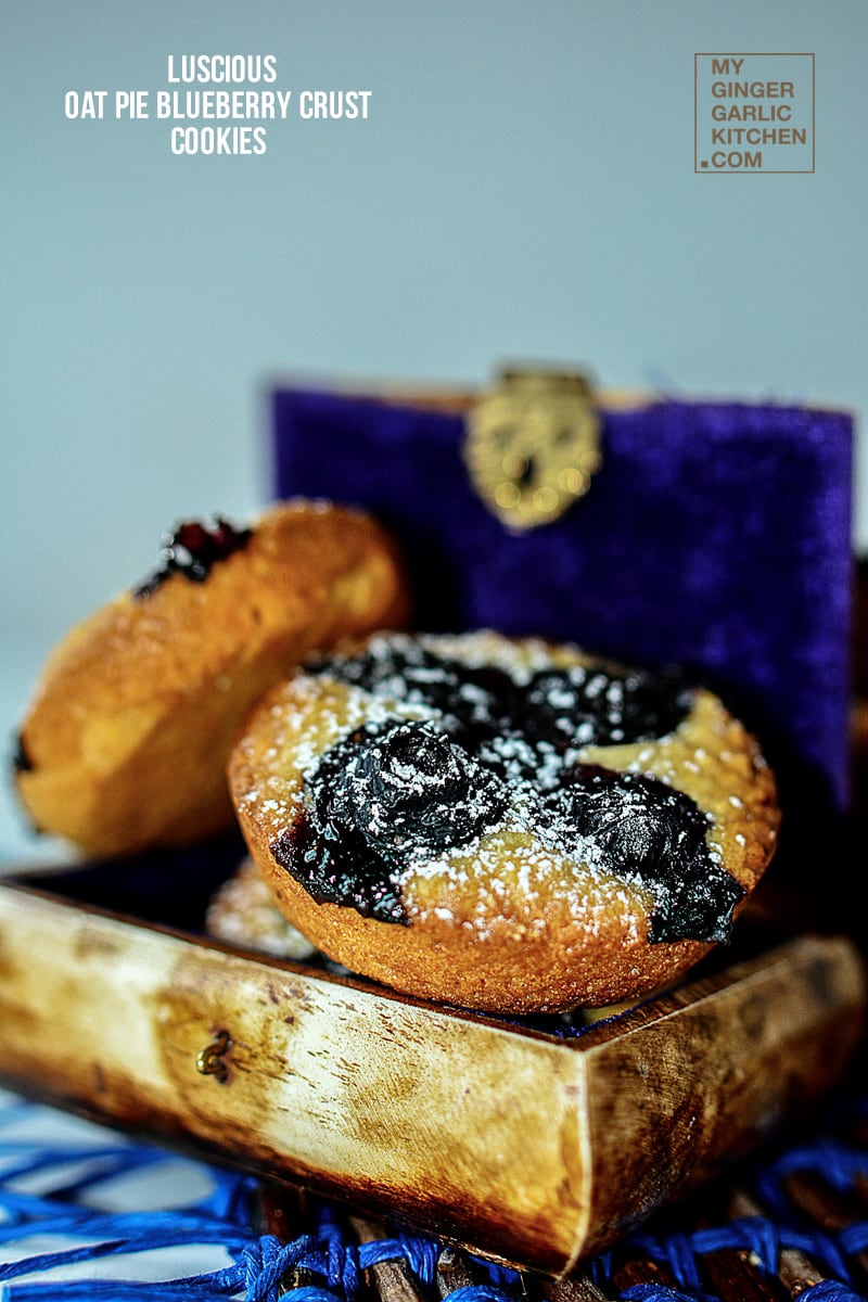 Image - recipe oat pie blueberry crust cookies anupama paliwal my ginger garlic kitchen 7