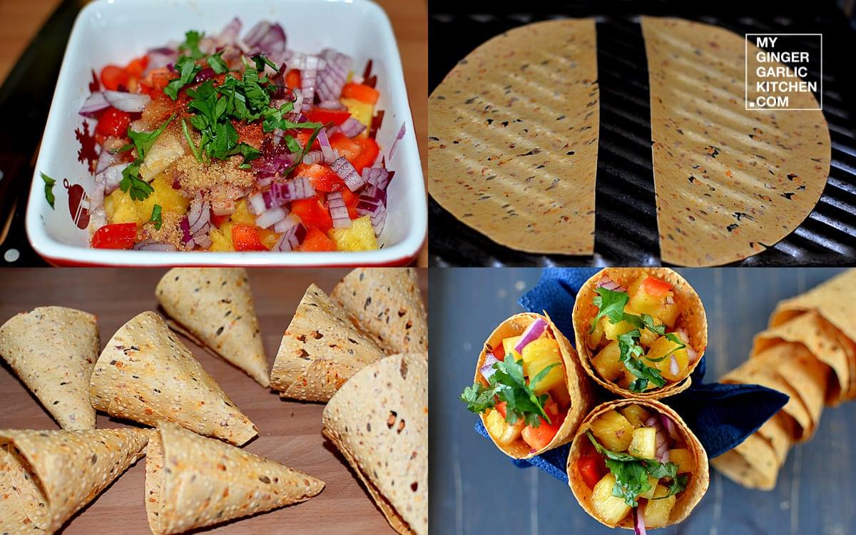recipe-pineapple-salsa-papadum-cones-anupama-paliwal-my-ginger-garlic-kitchen-6