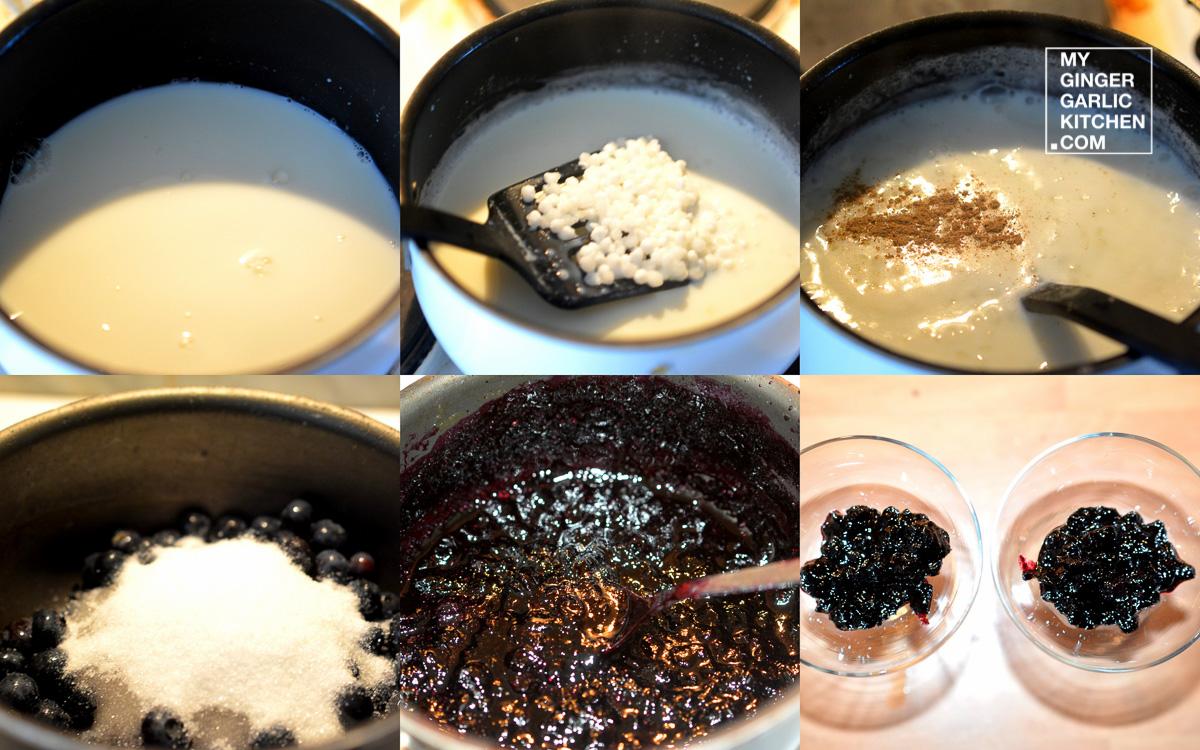 Image - recipe sago pudding with blueberry sauce anupama paliwal my ginger garlic kitchen 8