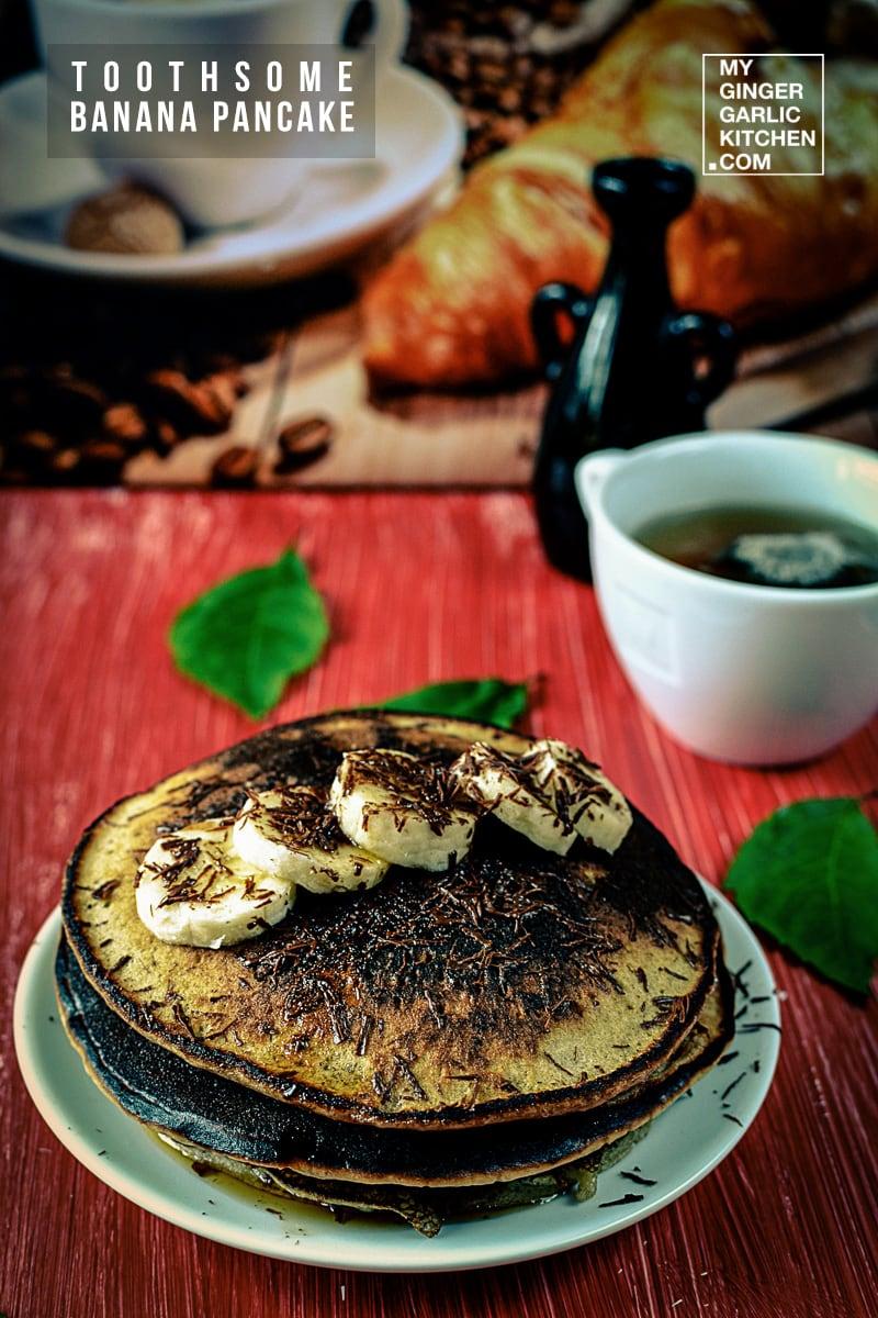 Image - recipe toothsome banana pancakes anupama paliwal my ginger garlic kitchen 2