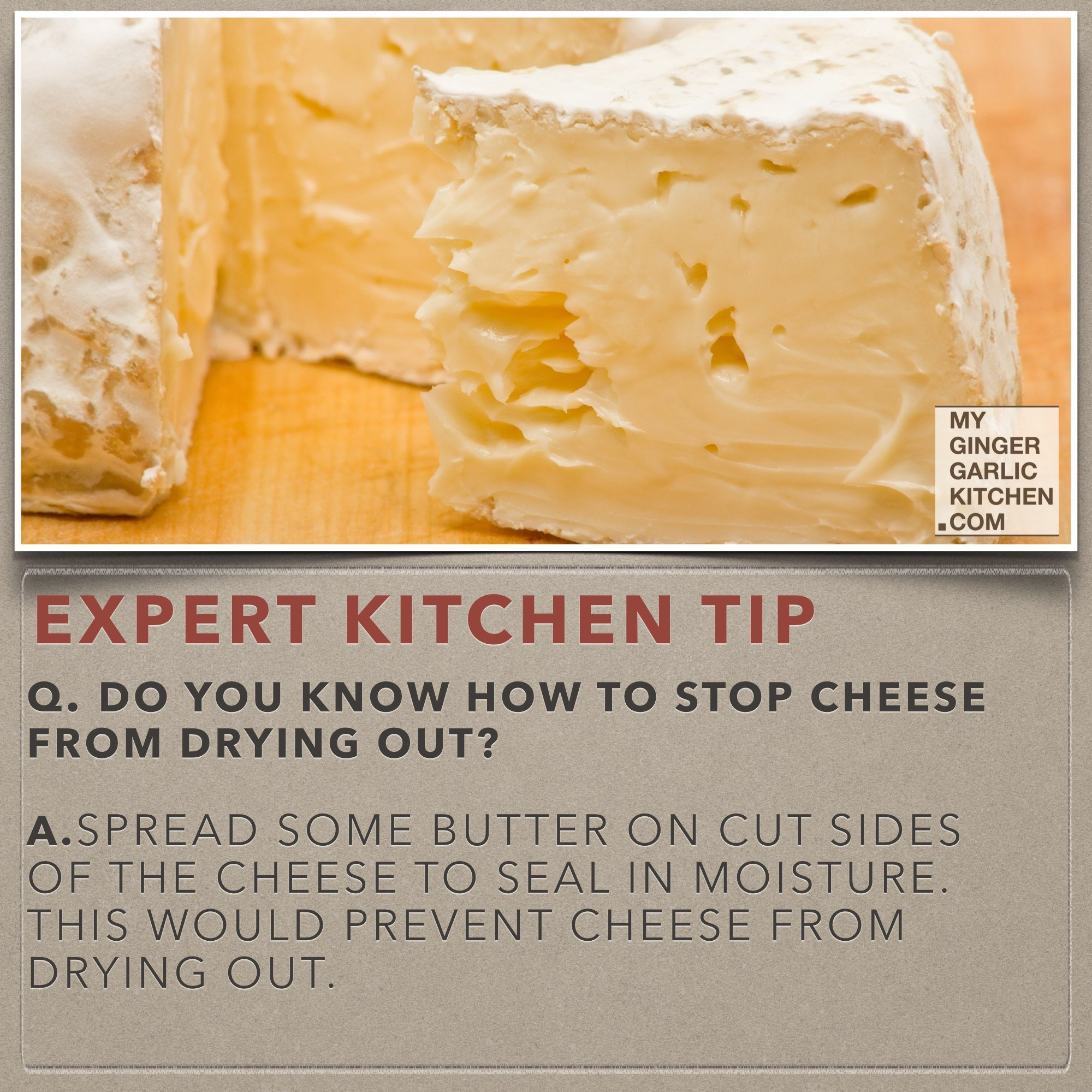 Do You Know How To Stop Cheese From Drying Out [Kitchen Tips]