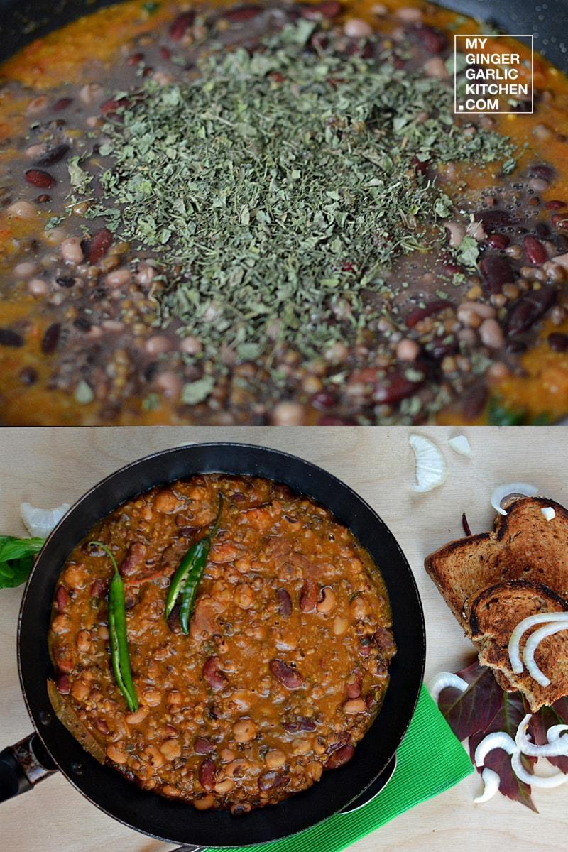 Image - recipe 5 bean curry anupama paliwal my ginger garlic kitchen 9