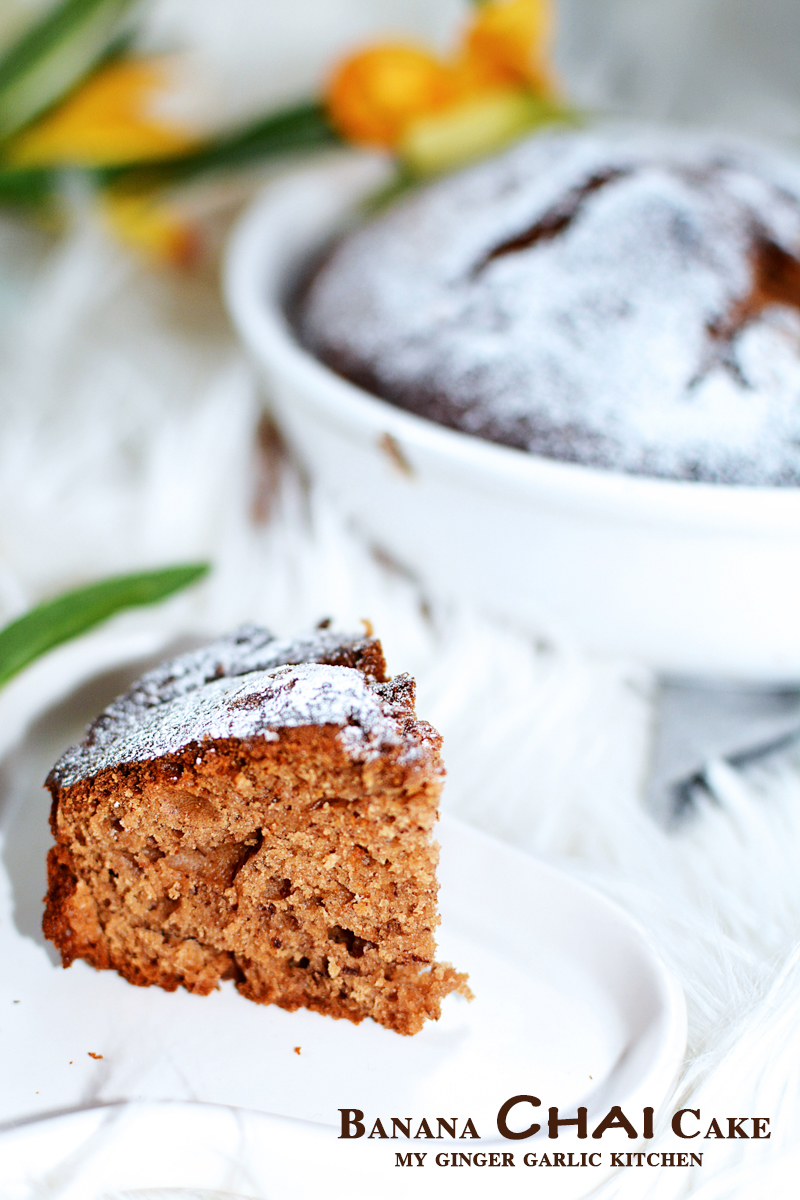 Image of Banana Chai Cake