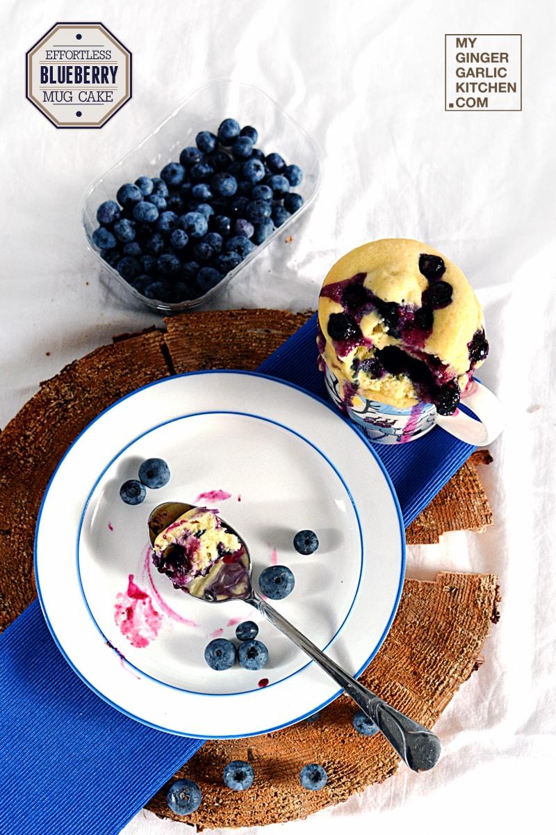 Image - recipe effortless blubeberry mug cake anupama paliwal my ginger garlic kitchen 4