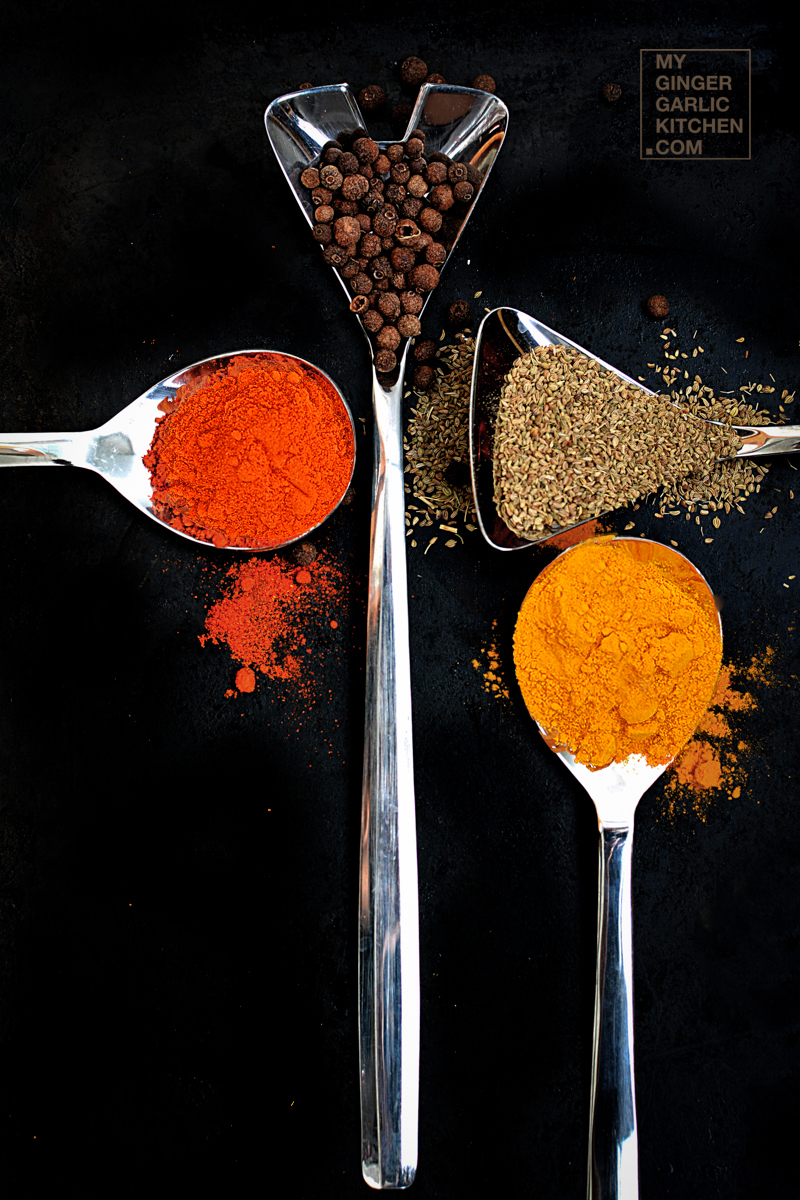 Image of Few Spices Of India [Stock Photo]