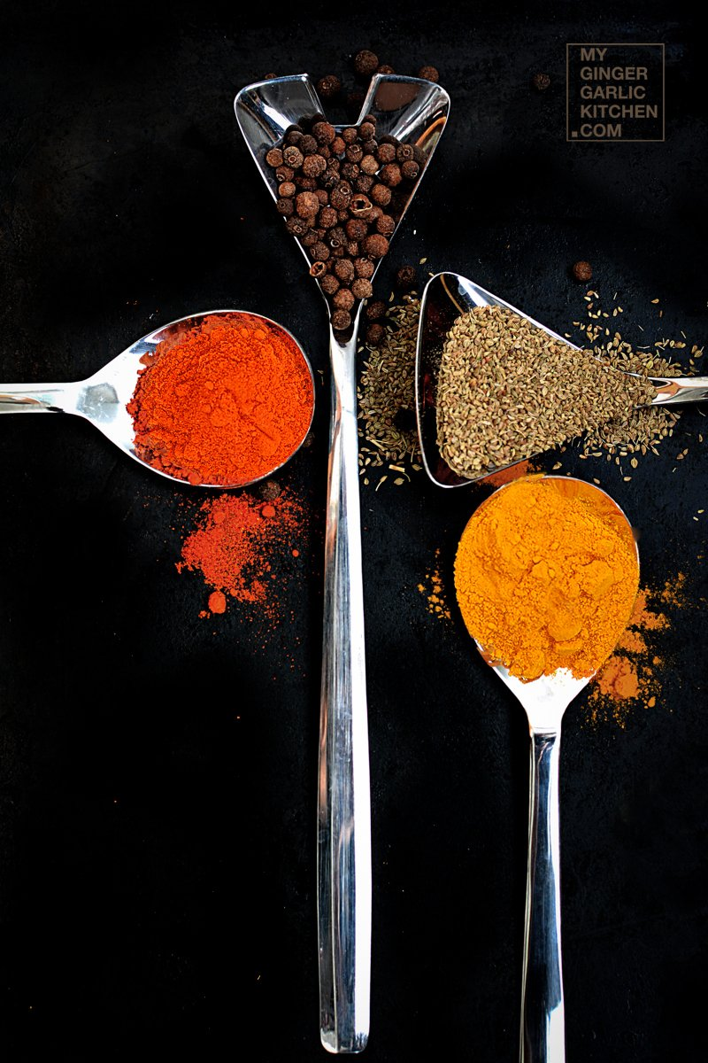 Wallpaper Spice Drops Candy Colorful 4k Lifestyle 7500: Few Spices Of India [Stock Photo]