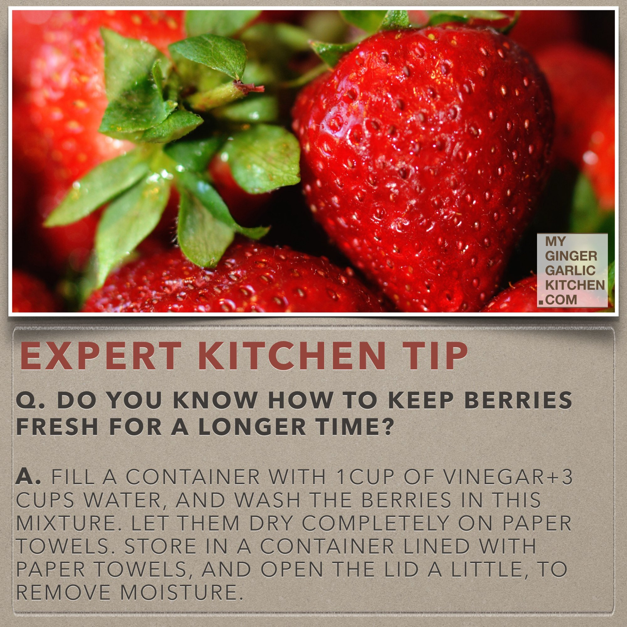 Do You Know How To Keep Berries Fresh For Longer Time [Kitchen-Tips]