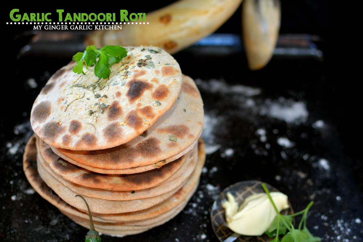 Image - recipe garlic tandoori roti anupama paliwal my ginger garlic kitchen 5