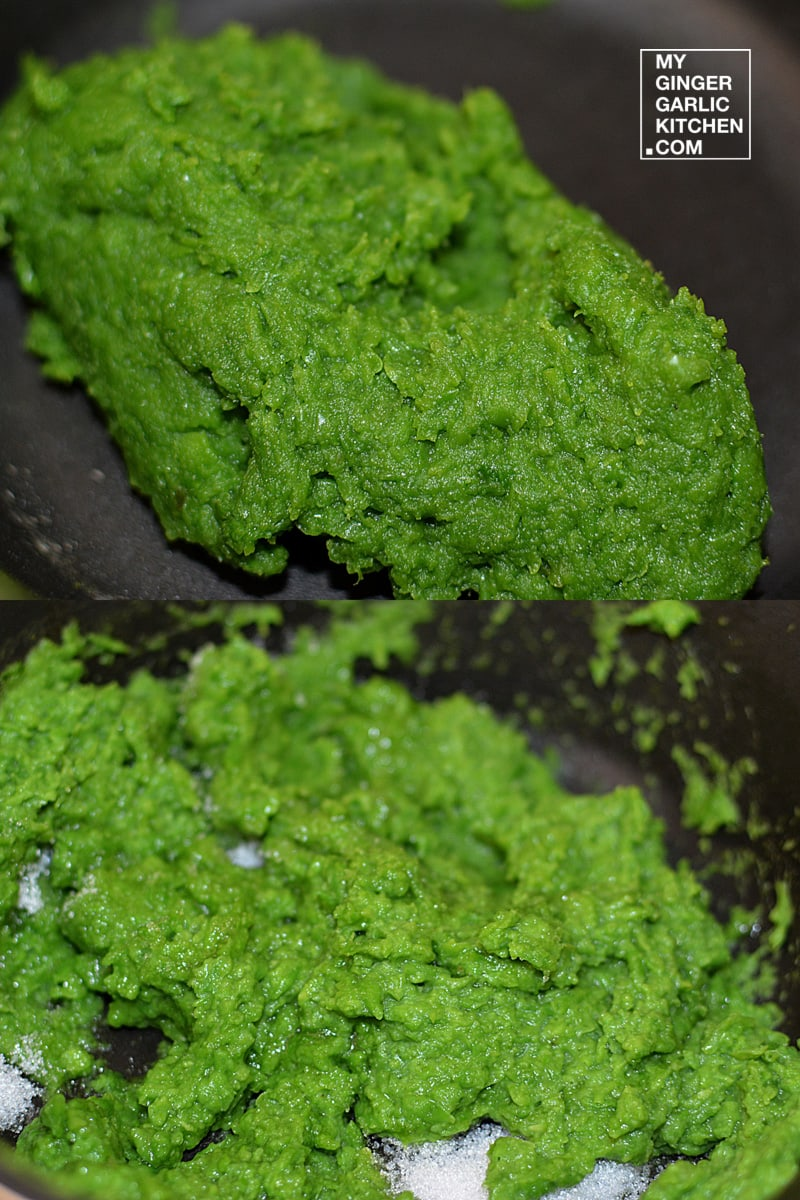 Image - recipe peas coconut peda anupama paliwal my ginger garlic kitchen 10
