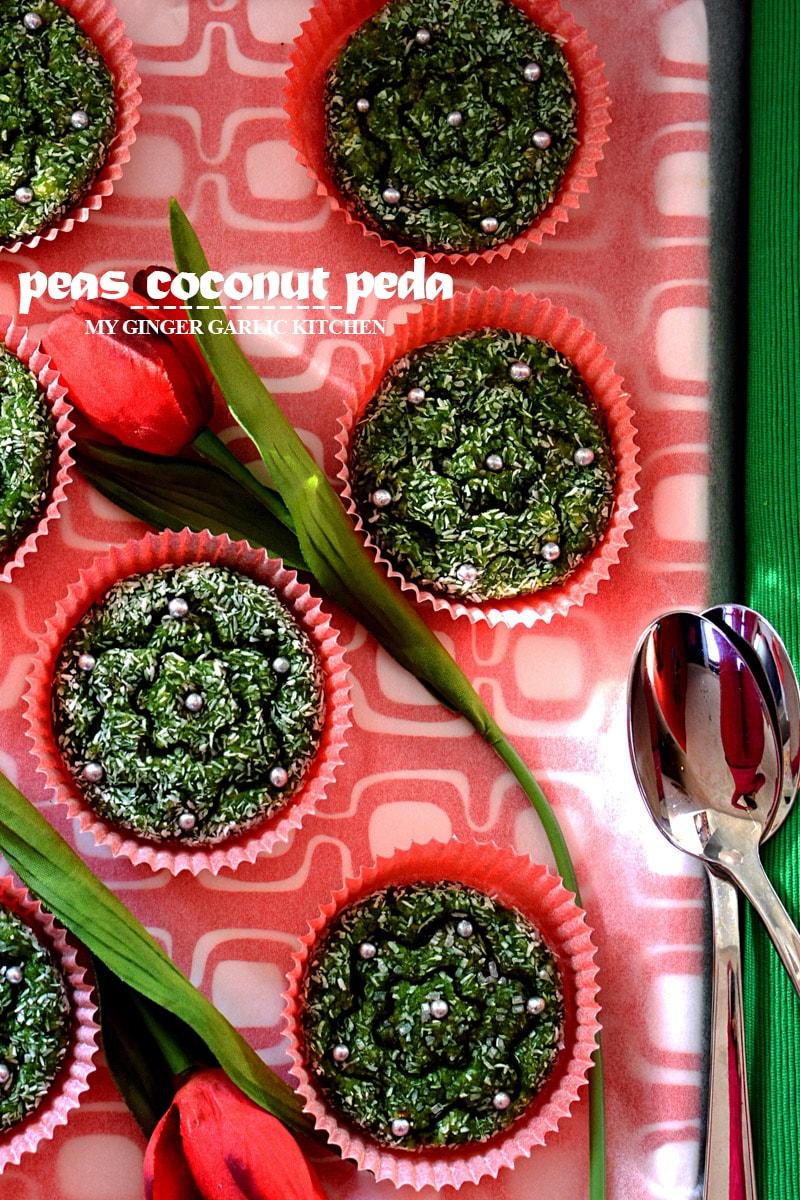 Image - recipe peas coconut peda anupama paliwal my ginger garlic kitchen 5