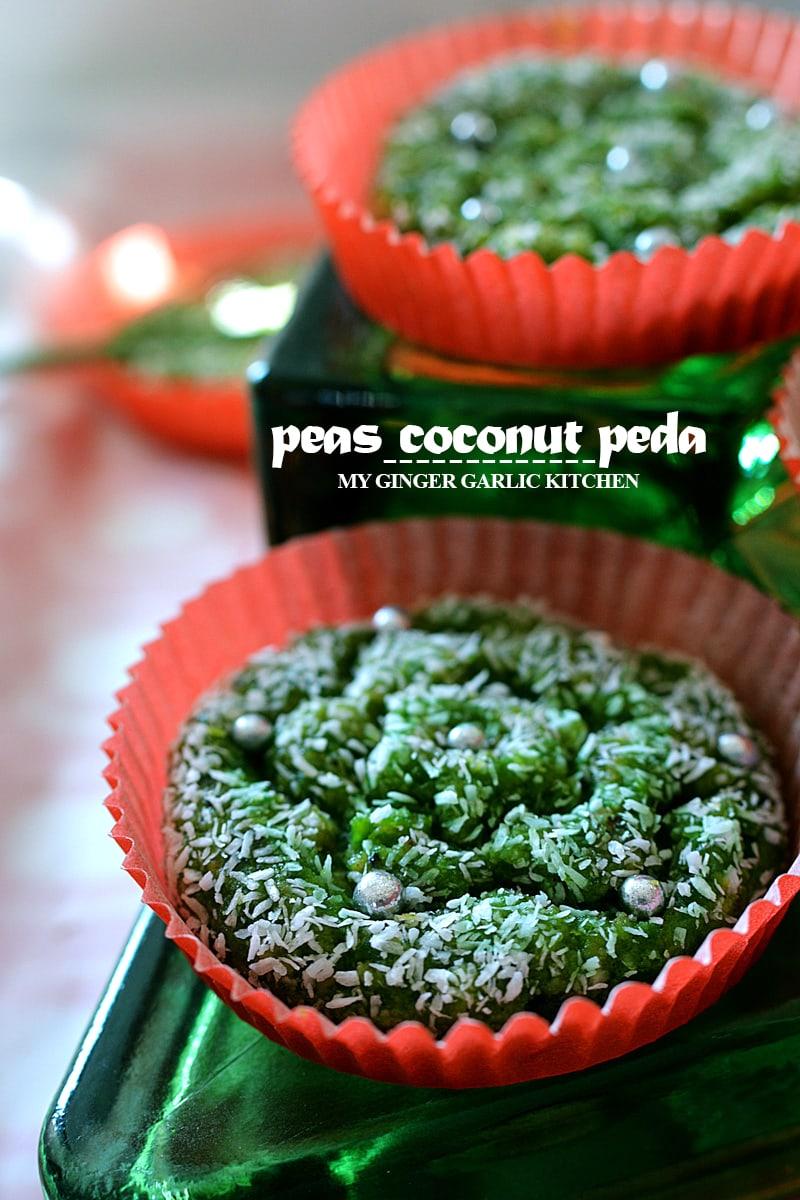 Image - recipe peas coconut peda anupama paliwal my ginger garlic kitchen 6